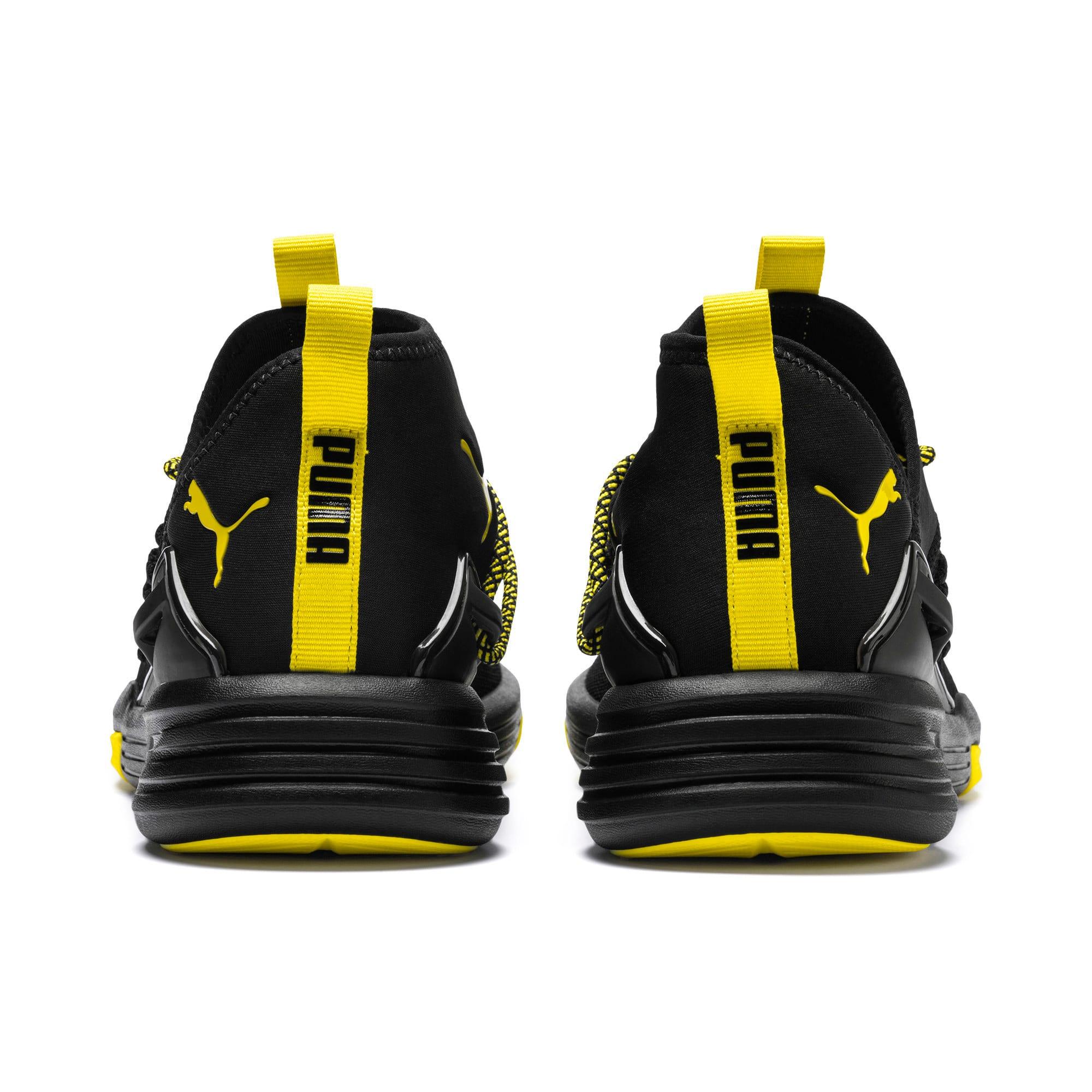 Thumbnail 3 of Mantra Caution Men's Training Shoes, Puma Black-Blazing Yellow, medium