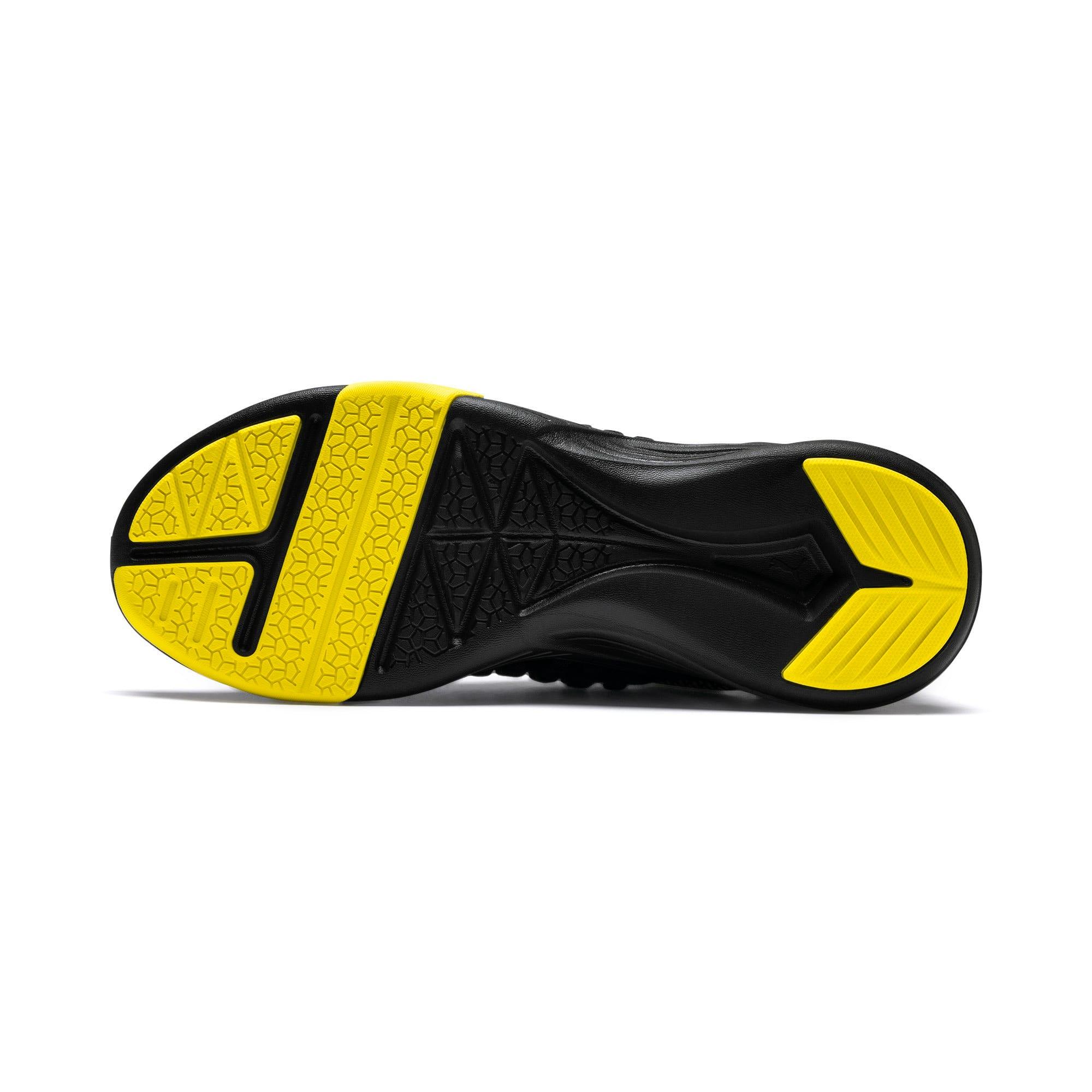 Thumbnail 4 of Mantra Caution Herren Trainingsschuhe, Puma Black-Blazing Yellow, medium