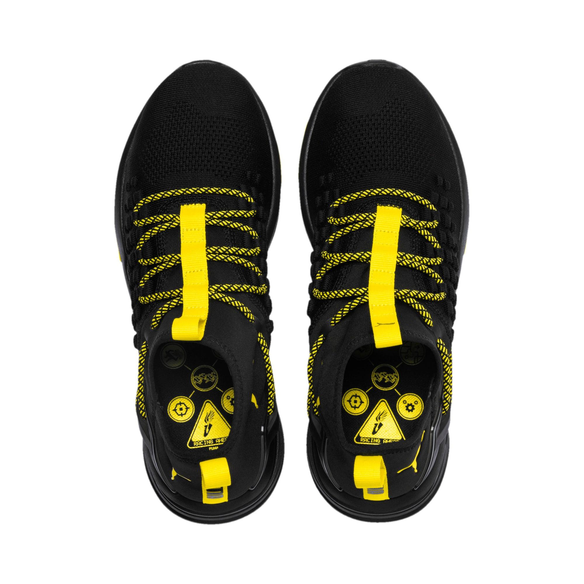 Thumbnail 6 of Mantra Caution Herren Trainingsschuhe, Puma Black-Blazing Yellow, medium