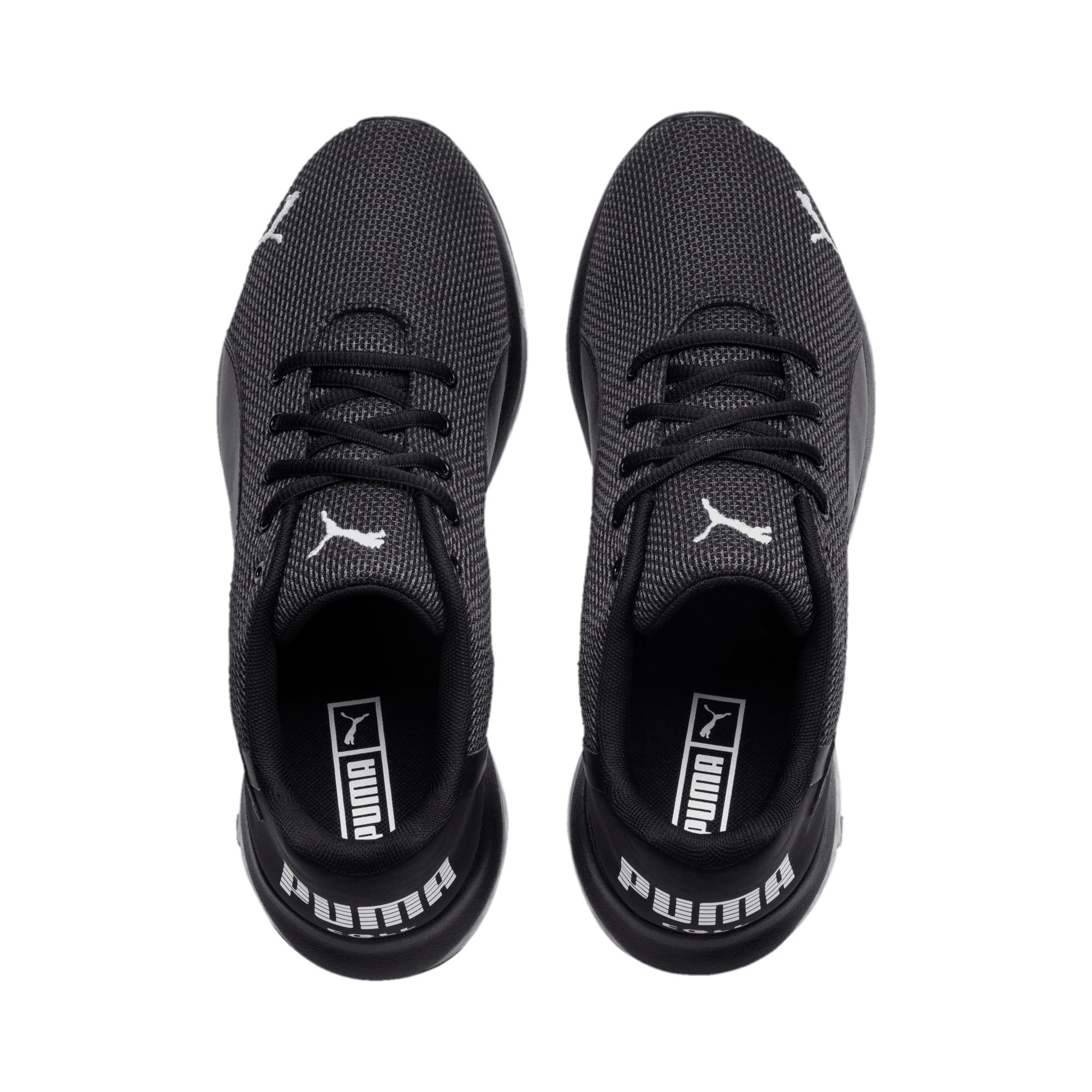 Thumbnail 6 of Chaussure de course Cell Ultimate Point Knitted pour homme, Puma Black-Puma White, medium