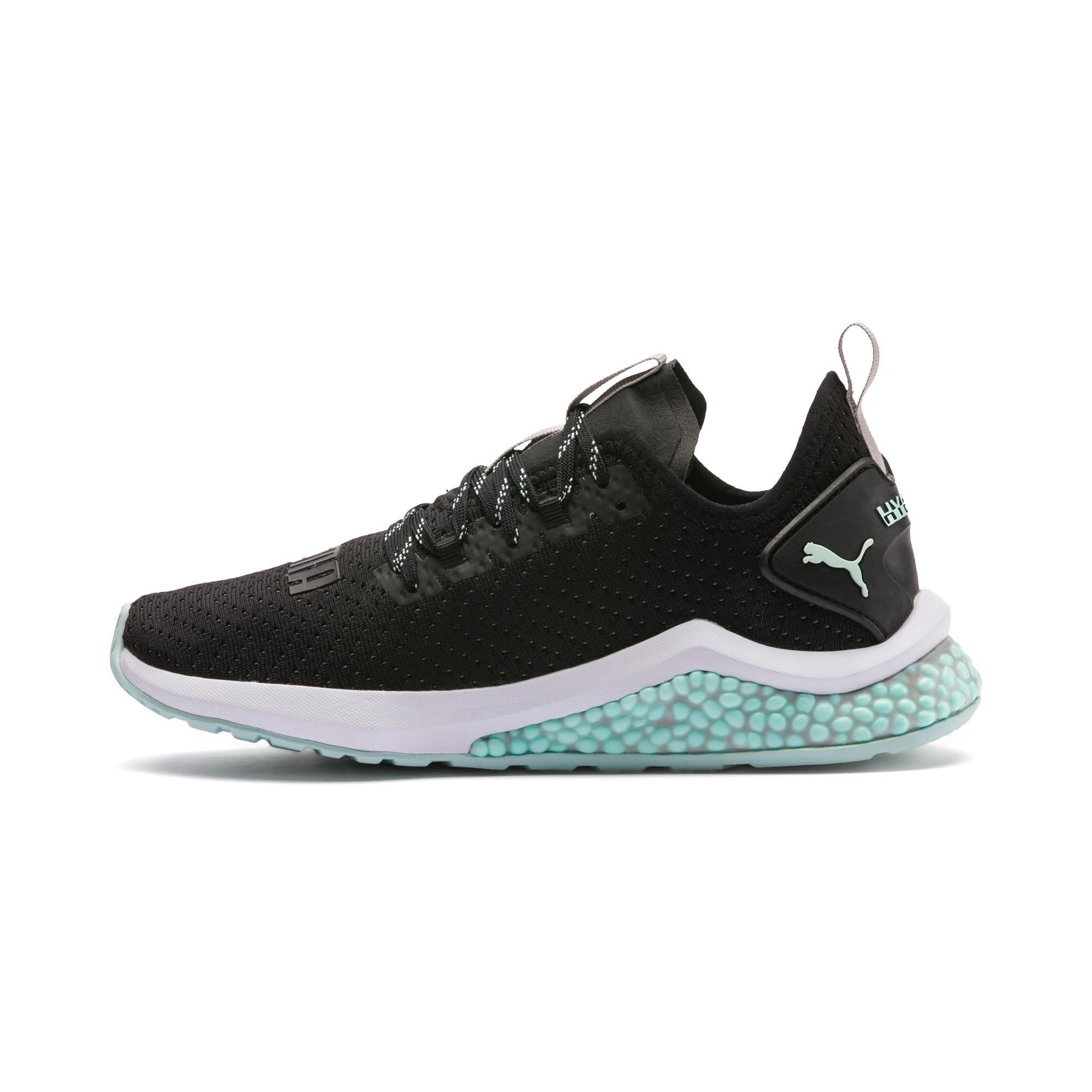 Thumbnail 1 of HYBRID NX Trailblazer Women's Running Shoes, Black-Fair Aqua-Pale Pink, medium