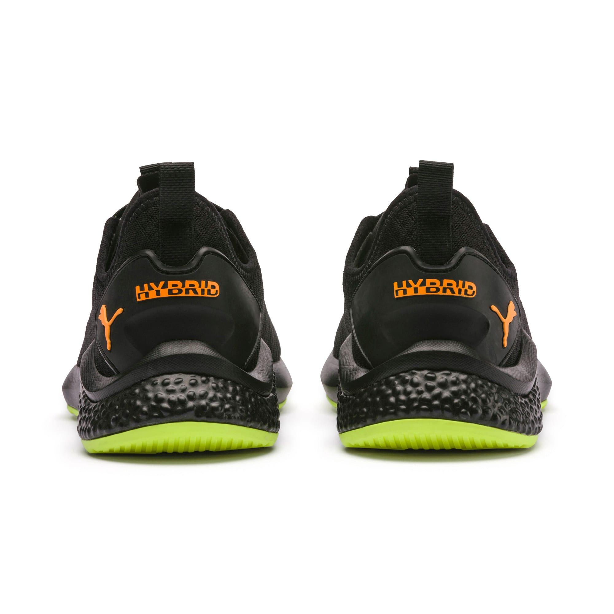 Thumbnail 4 van HYBRID NX Daylight sneakers voor mannen, Zwart-FizzyYellow-OrangePop, medium