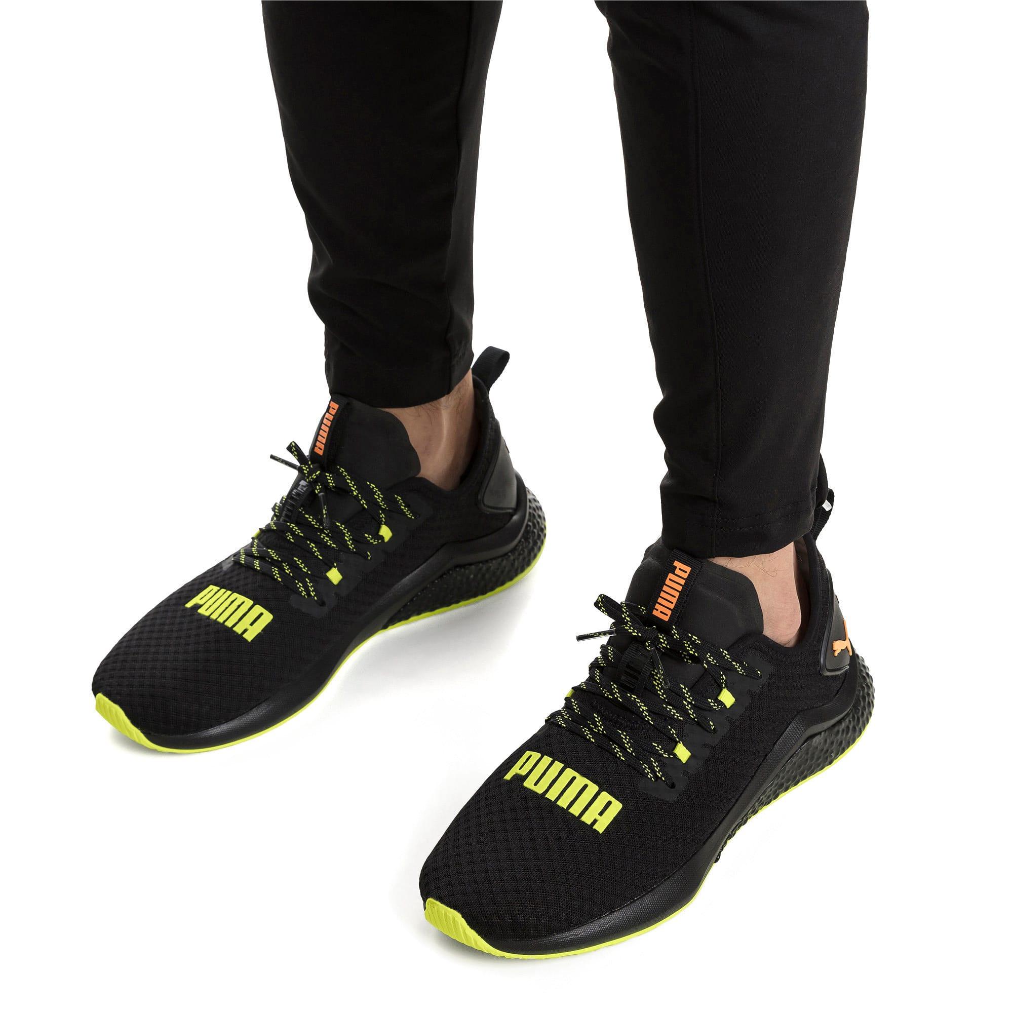 Thumbnail 2 van HYBRID NX Daylight sneakers voor mannen, Zwart-FizzyYellow-OrangePop, medium