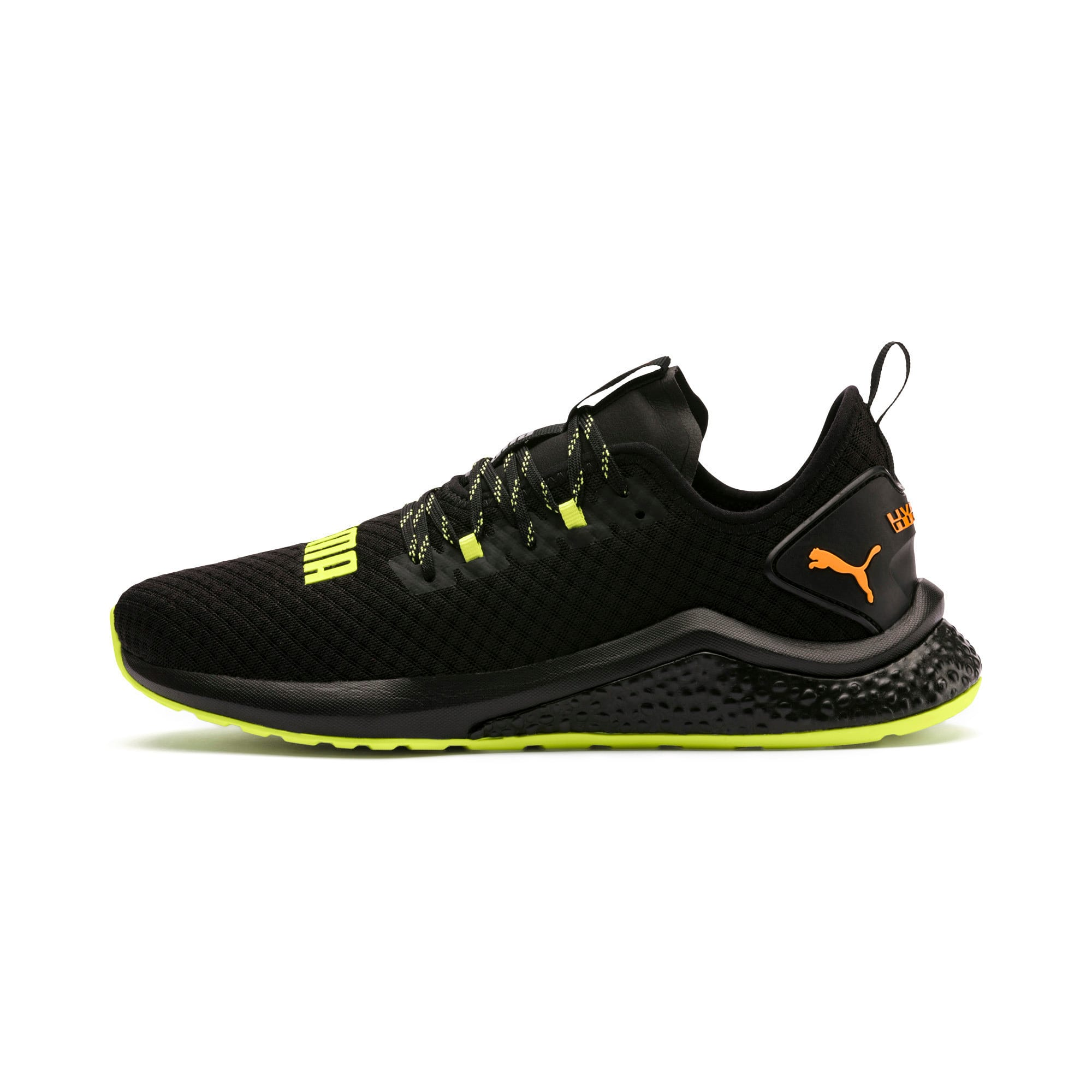 Thumbnail 1 van HYBRID NX Daylight sneakers voor mannen, Zwart-FizzyYellow-OrangePop, medium
