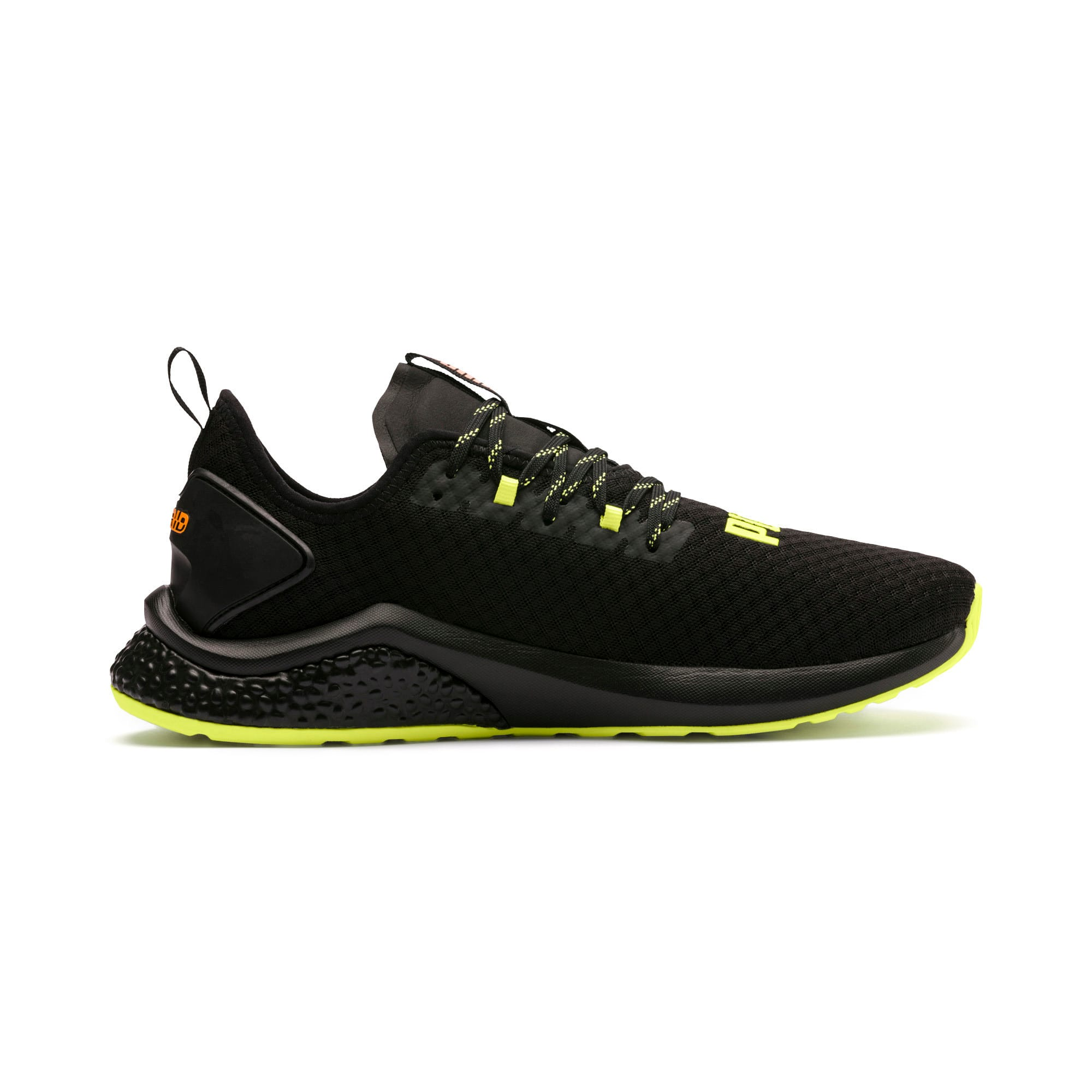 Thumbnail 6 of HYBRID NX Daylight Men's Trainers, Black-FizzyYellow-OrangePop, medium