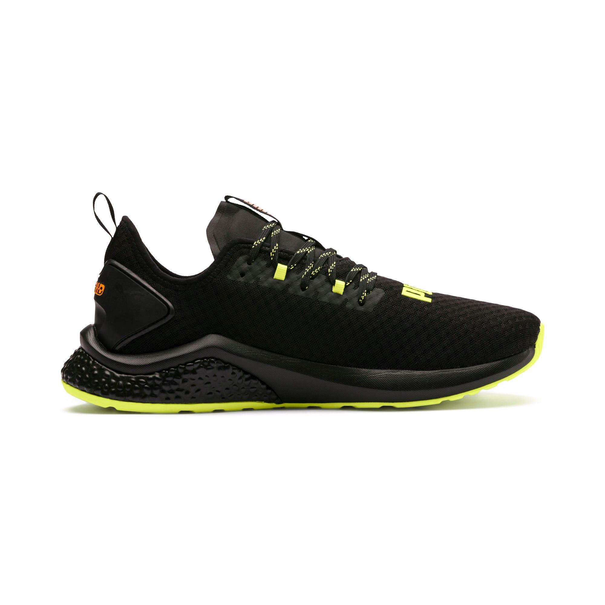 Thumbnail 6 van HYBRID NX Daylight sneakers voor mannen, Zwart-FizzyYellow-OrangePop, medium