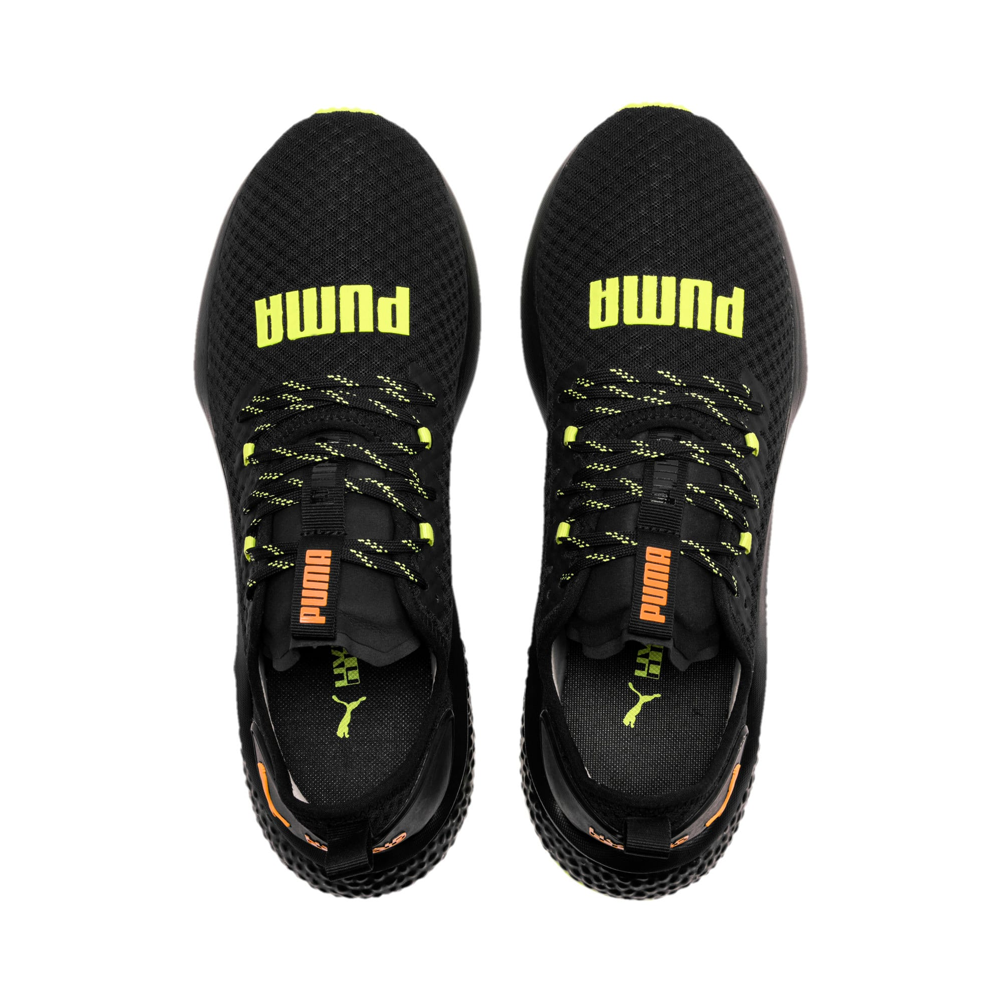 Thumbnail 7 van HYBRID NX Daylight sneakers voor mannen, Zwart-FizzyYellow-OrangePop, medium
