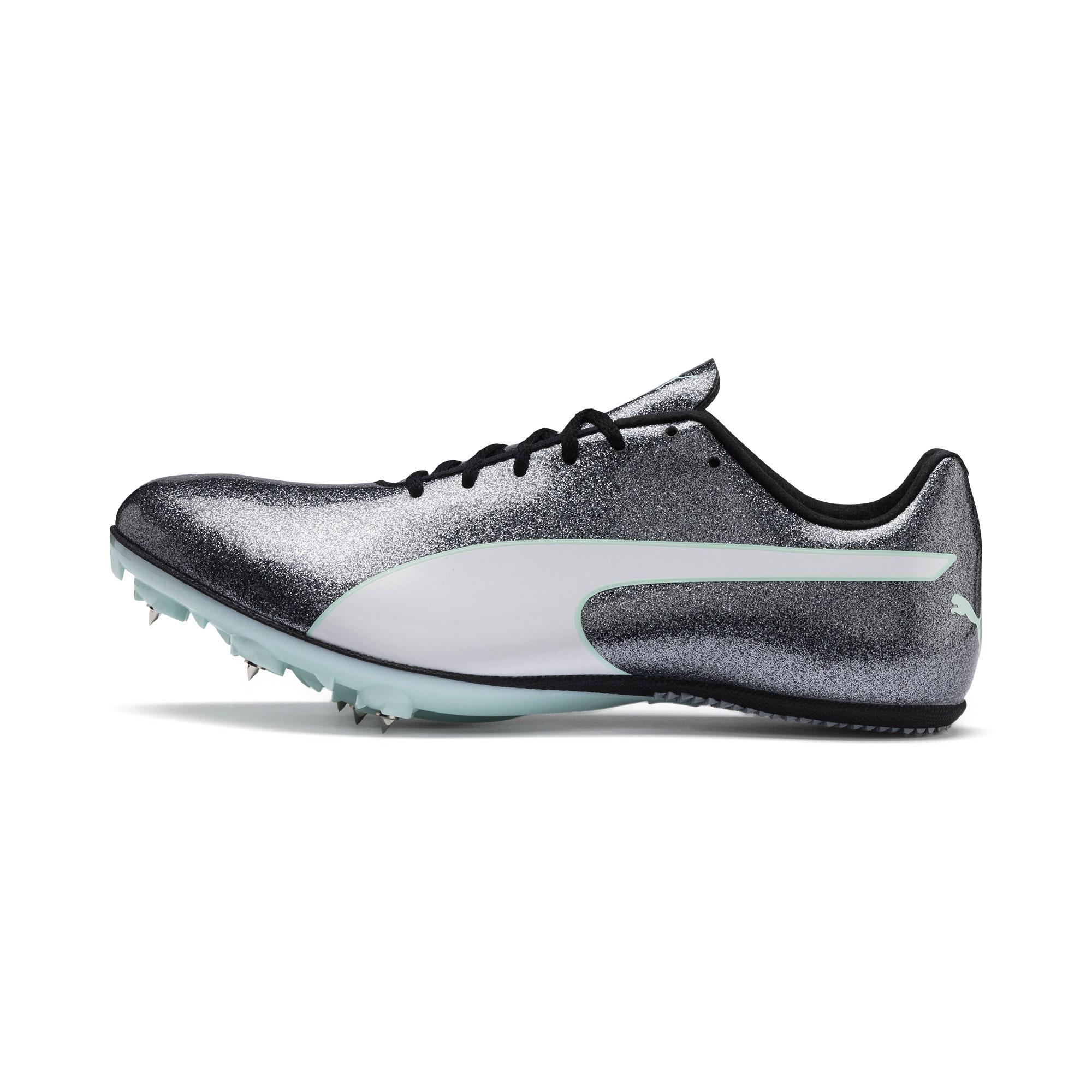 Thumbnail 1 of evoSPEED Sprint 9 Women's Running Shoes, Steel Gray-Fair Aqua-White, medium