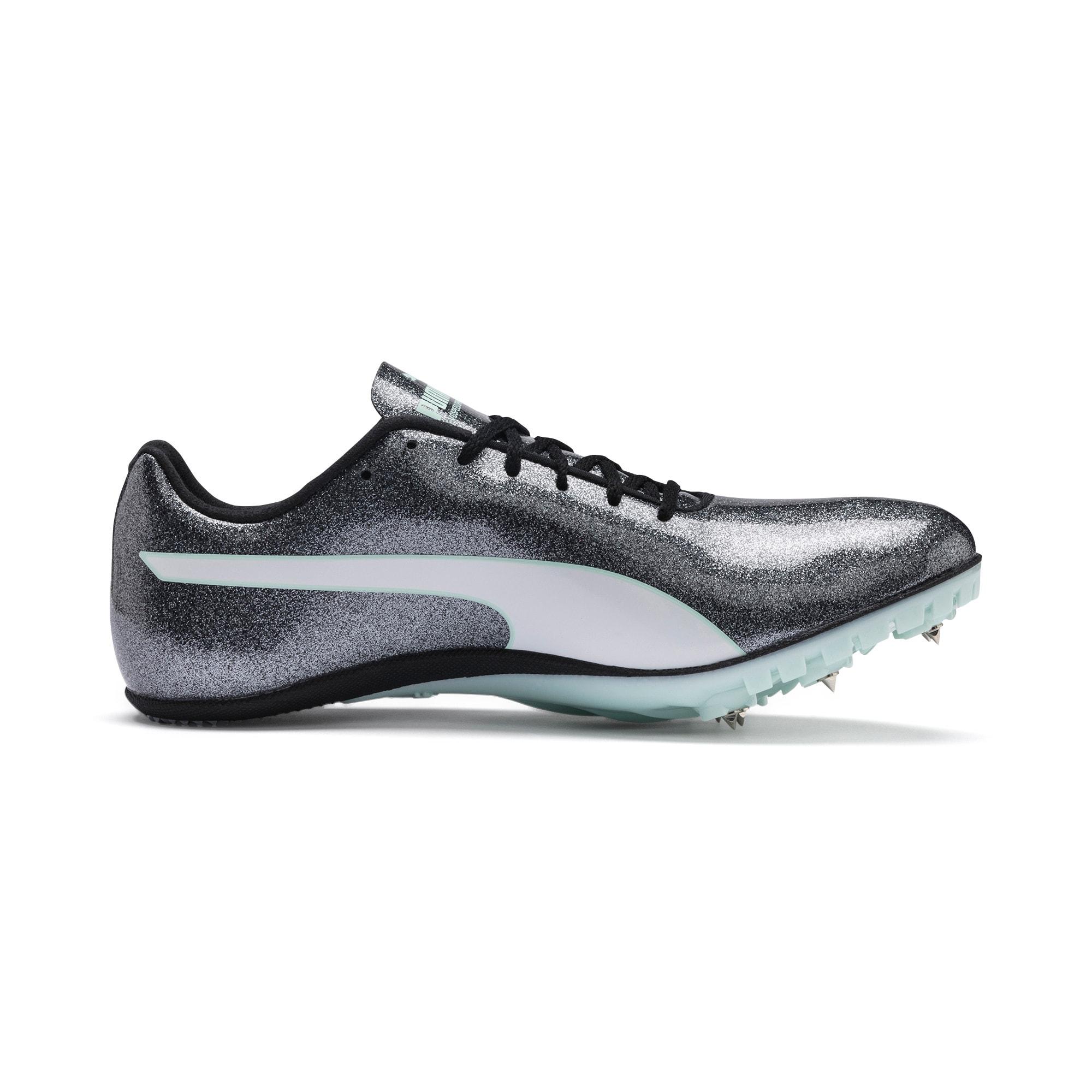 Thumbnail 5 of evoSPEED Sprint 9 Women's Running Shoes, Steel Gray-Fair Aqua-White, medium