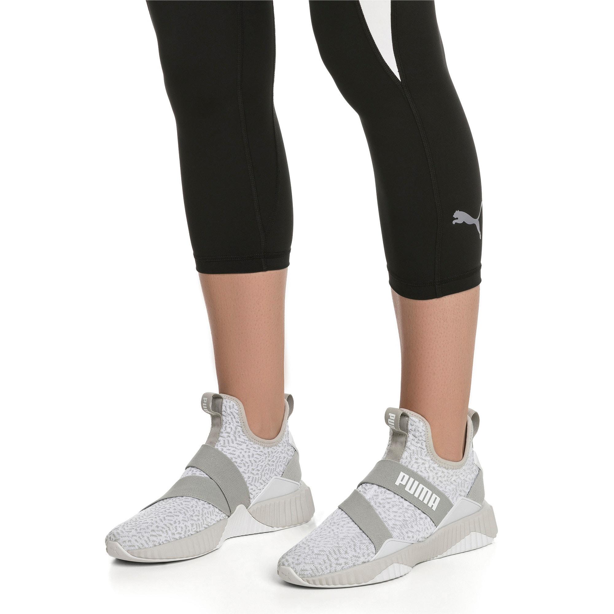 Thumbnail 7 of Defy Mid Animal Women's Training Shoes, Gray Violet-Puma White, medium