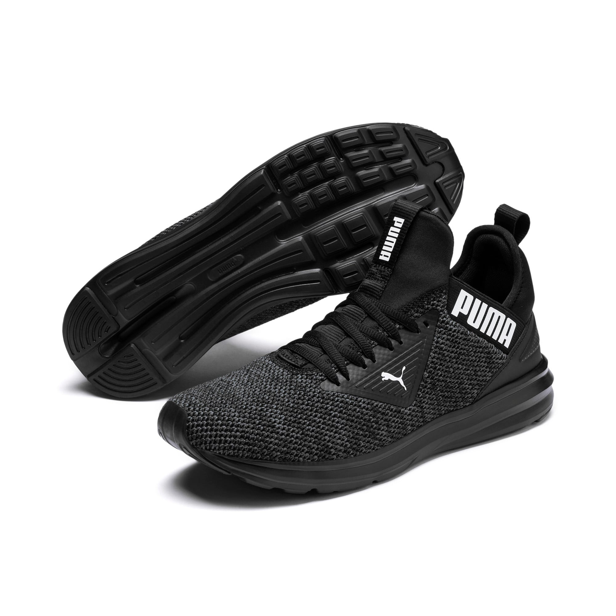 Thumbnail 2 of Enzo Beta Woven Men's Training Shoes, Puma Black-Asphalt, medium