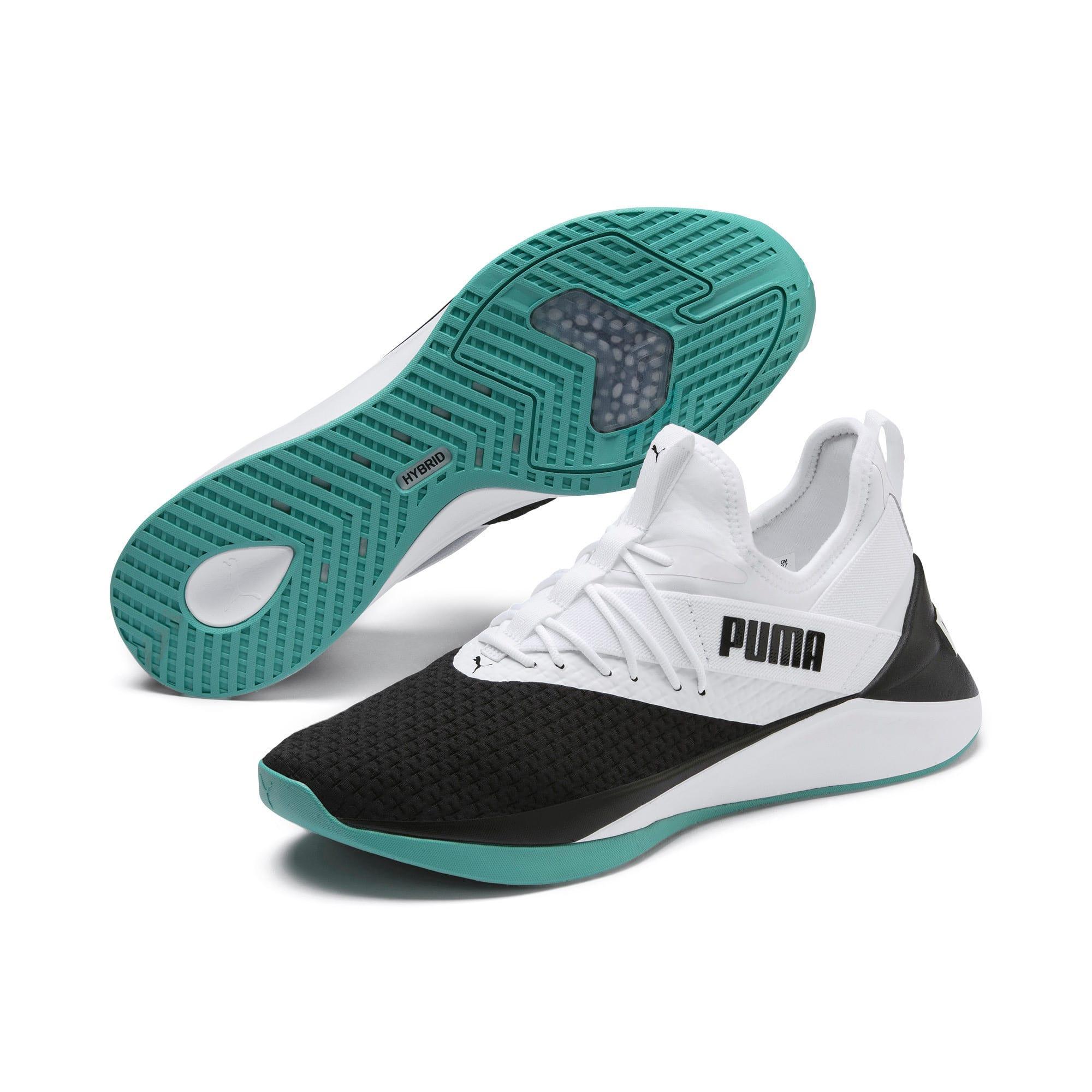 Thumbnail 3 of Basket Jaab XT pour homme, Puma White-Puma Black -1, medium