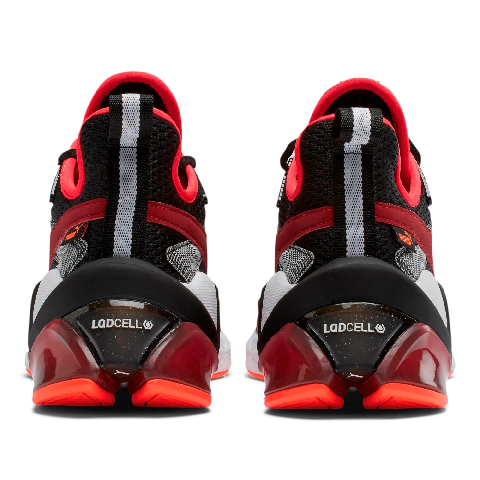Thumbnail 4 of LQDCELL Origin Tech Men's Training Shoes, Puma Black-Rhubarb, medium