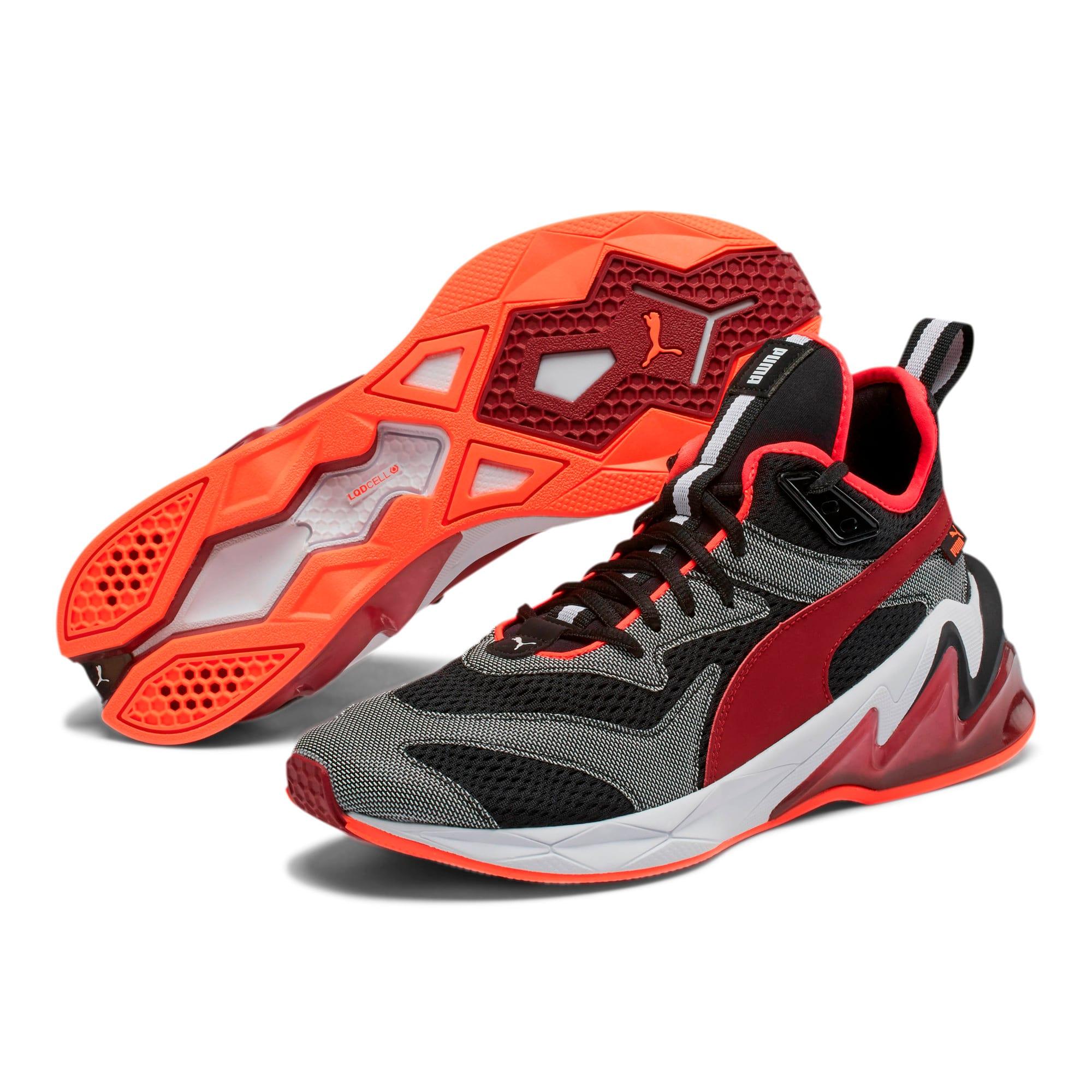 Thumbnail 3 of LQDCELL Origin Tech Men's Training Shoes, Puma Black-Rhubarb, medium