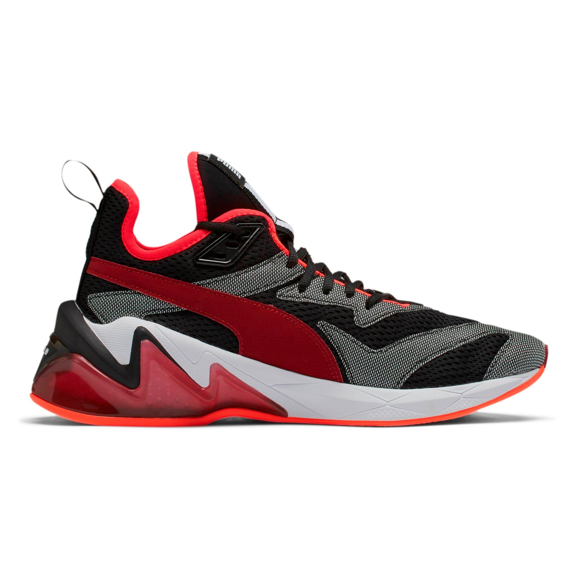 Thumbnail 6 of LQDCELL Origin Tech Men's Training Shoes, Puma Black-Rhubarb, medium