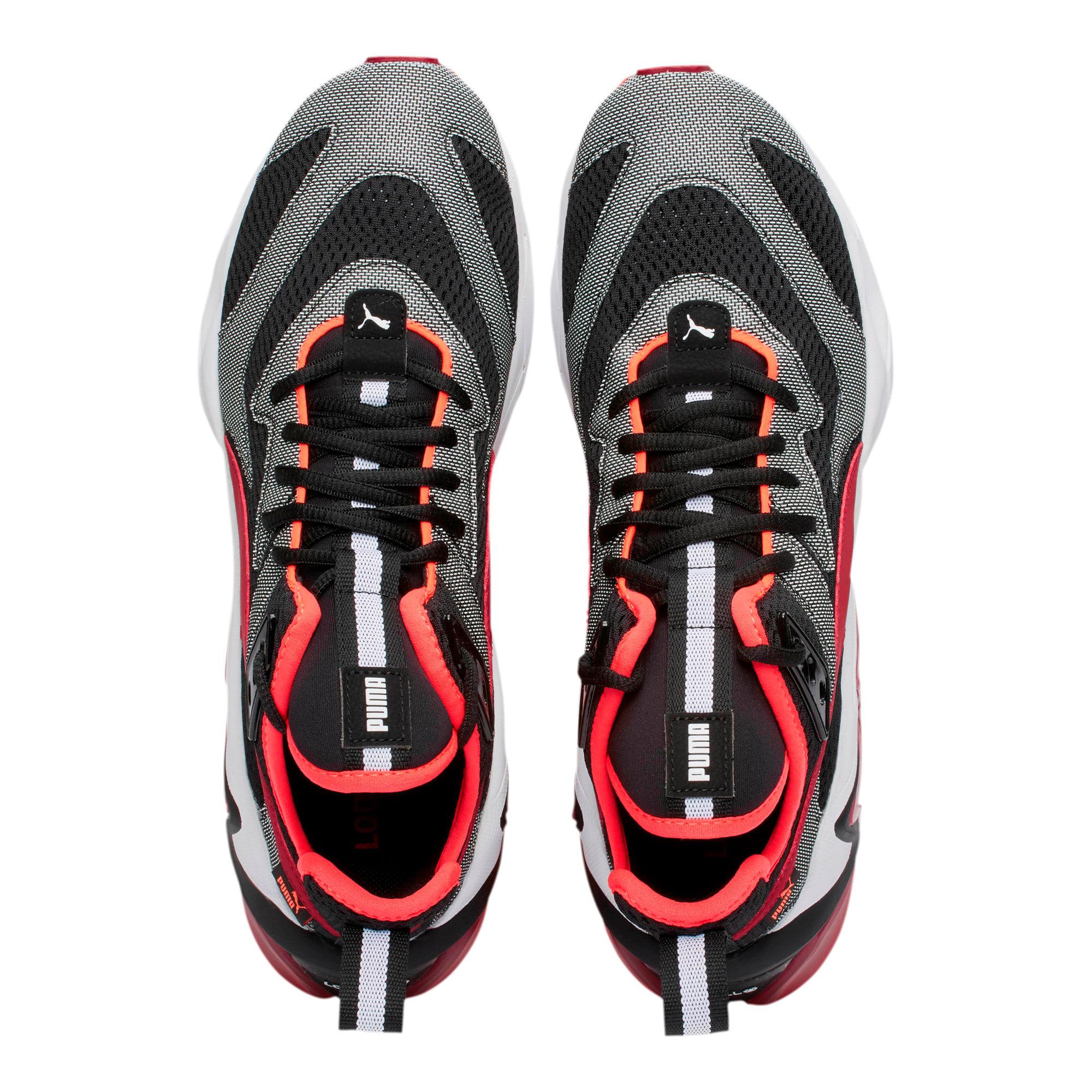 Thumbnail 7 of LQDCELL Origin Tech Men's Training Shoes, Puma Black-Rhubarb, medium