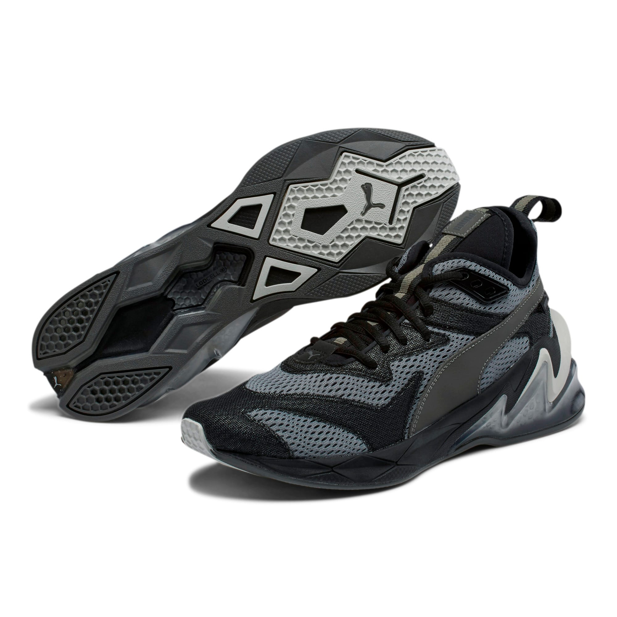 Thumbnail 3 of LQDCELL Origin Tech Men's Training Shoes, Puma Black-CASTLEROCK, medium