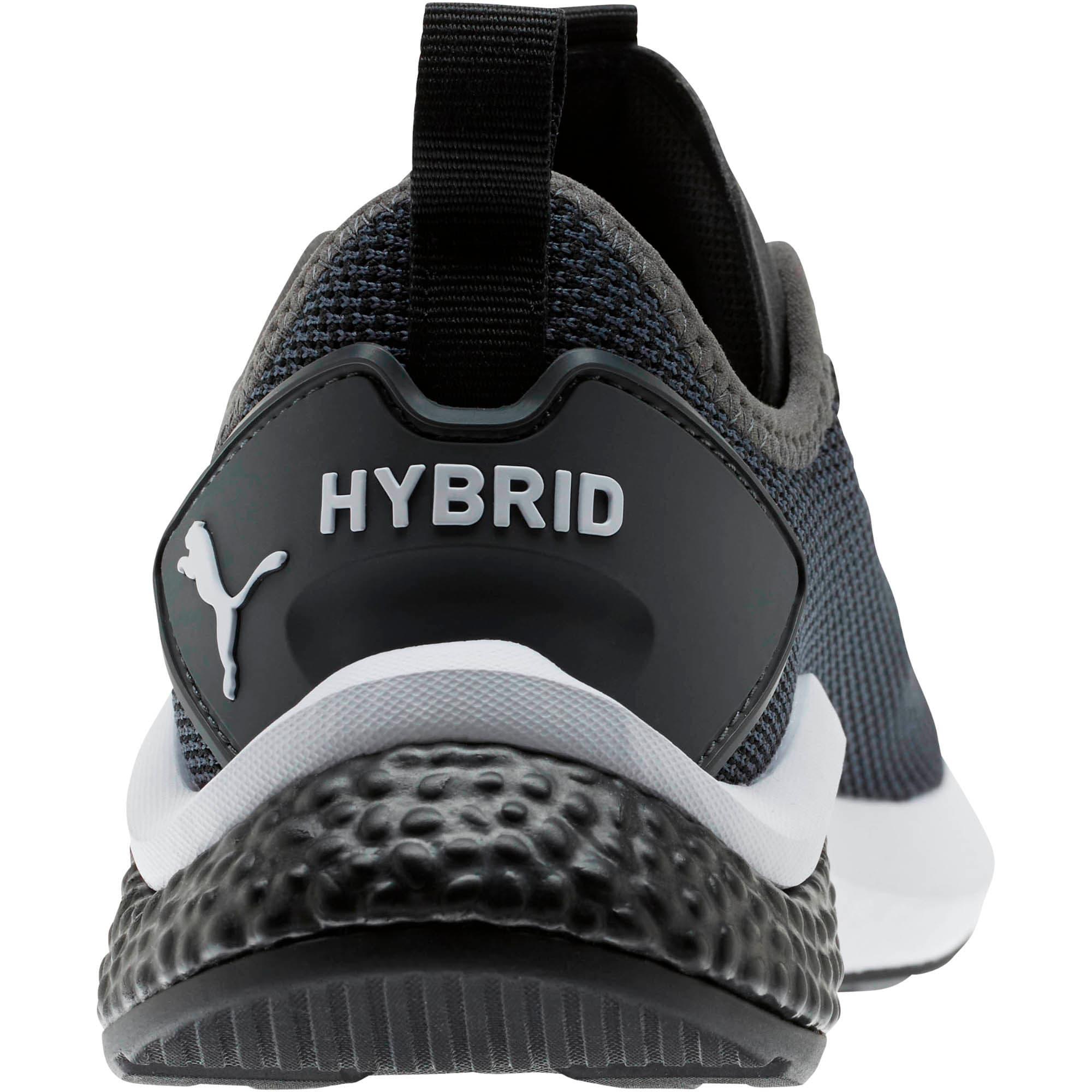 Thumbnail 3 of HYBRID NX Running Shoes JR, Puma Black-Puma White, medium