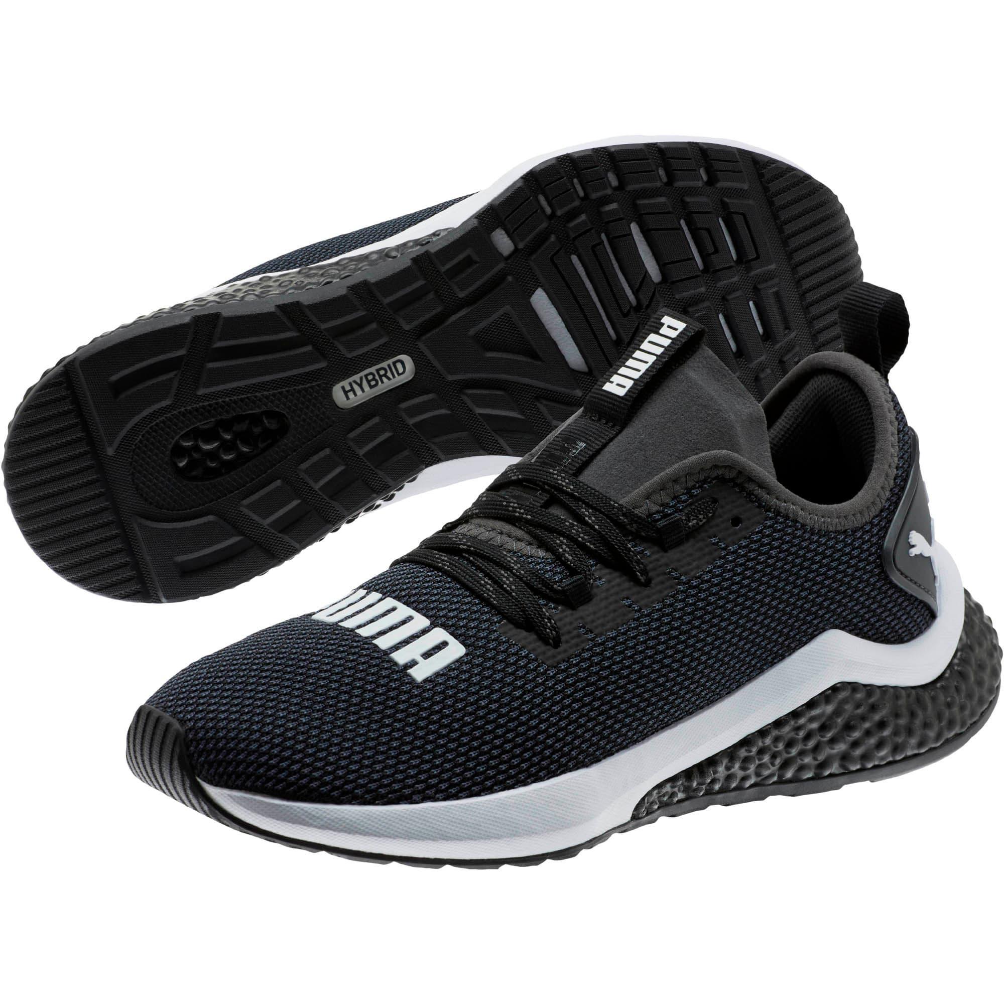 Thumbnail 2 of HYBRID NX Running Shoes JR, Puma Black-Puma White, medium