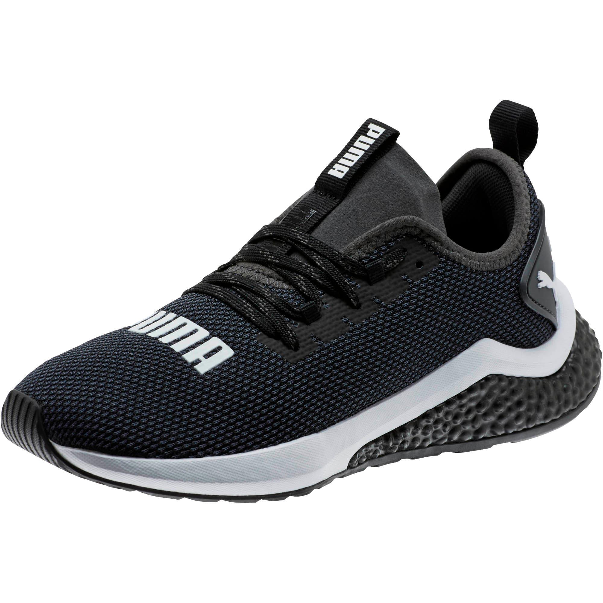 Thumbnail 1 of HYBRID NX Running Shoes JR, Puma Black-Puma White, medium