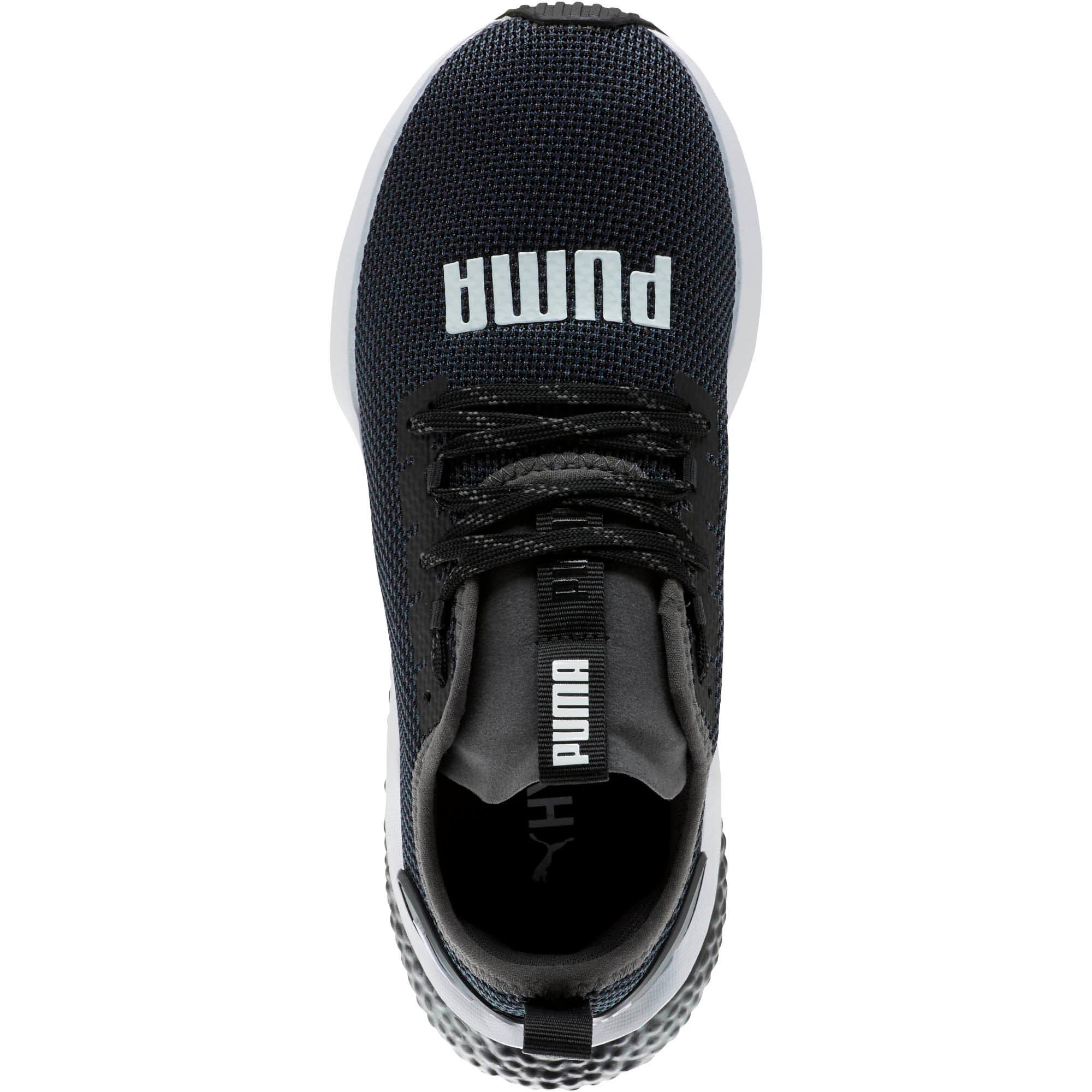 Thumbnail 5 of HYBRID NX Running Shoes JR, Puma Black-Puma White, medium