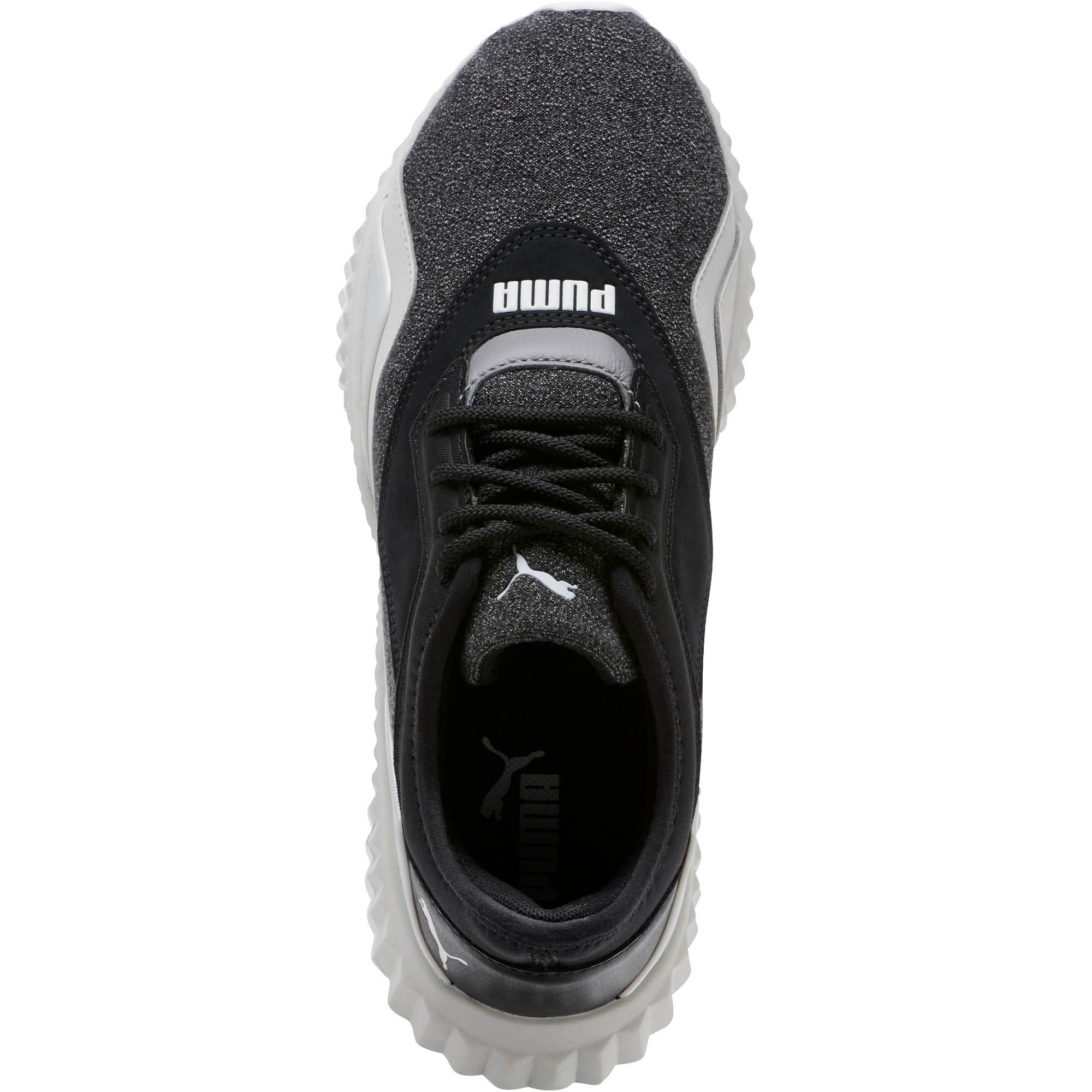 Thumbnail 5 of Defy Stitched Z Women's Training Shoes, Puma Black-Glacier Gray, medium