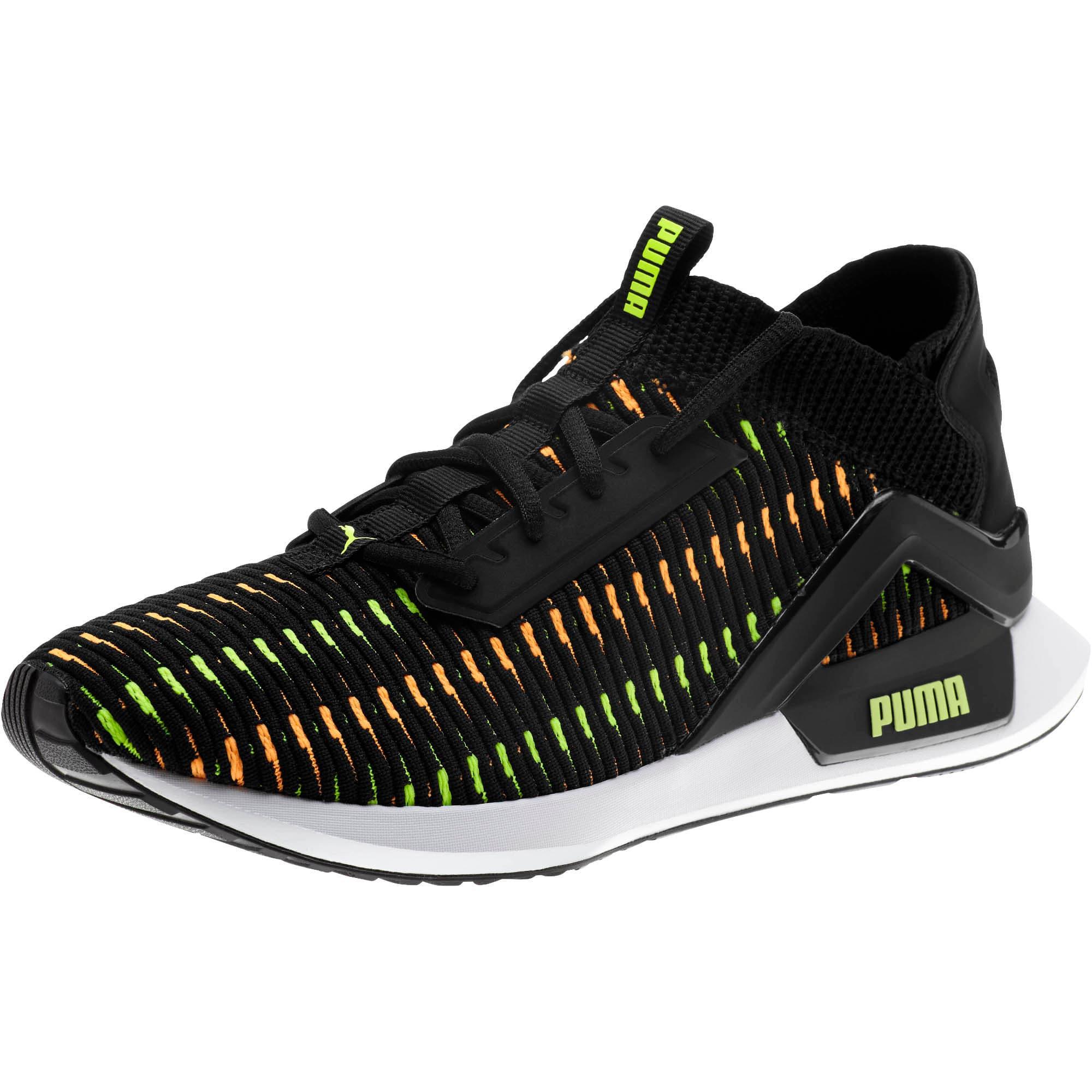 Thumbnail 1 of Rogue Corded Men's Sneakers, Puma Black-Orange Pop, medium