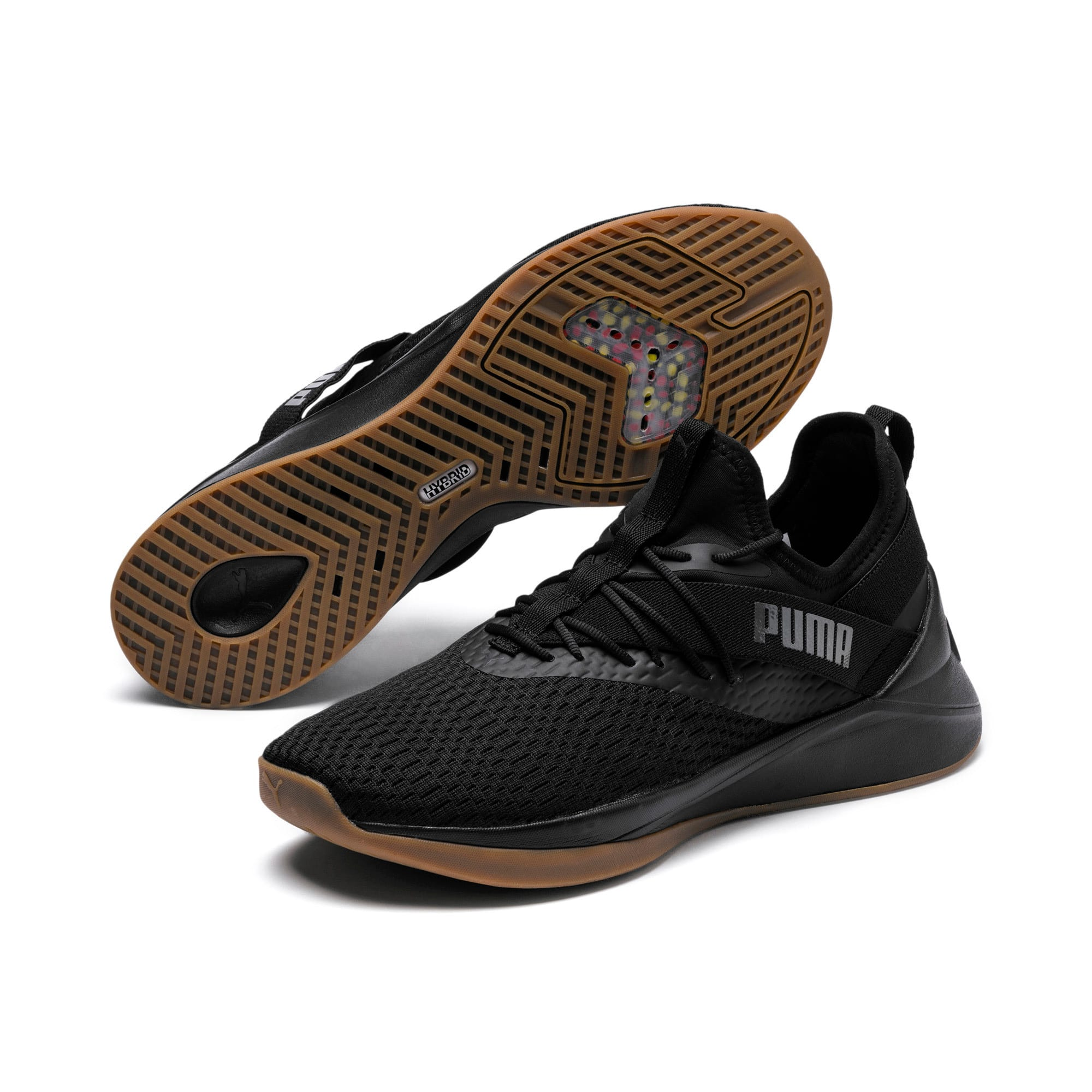 Thumbnail 2 of Jaab XT Summer Men's Training Shoes, Puma Black-Asphalt, medium