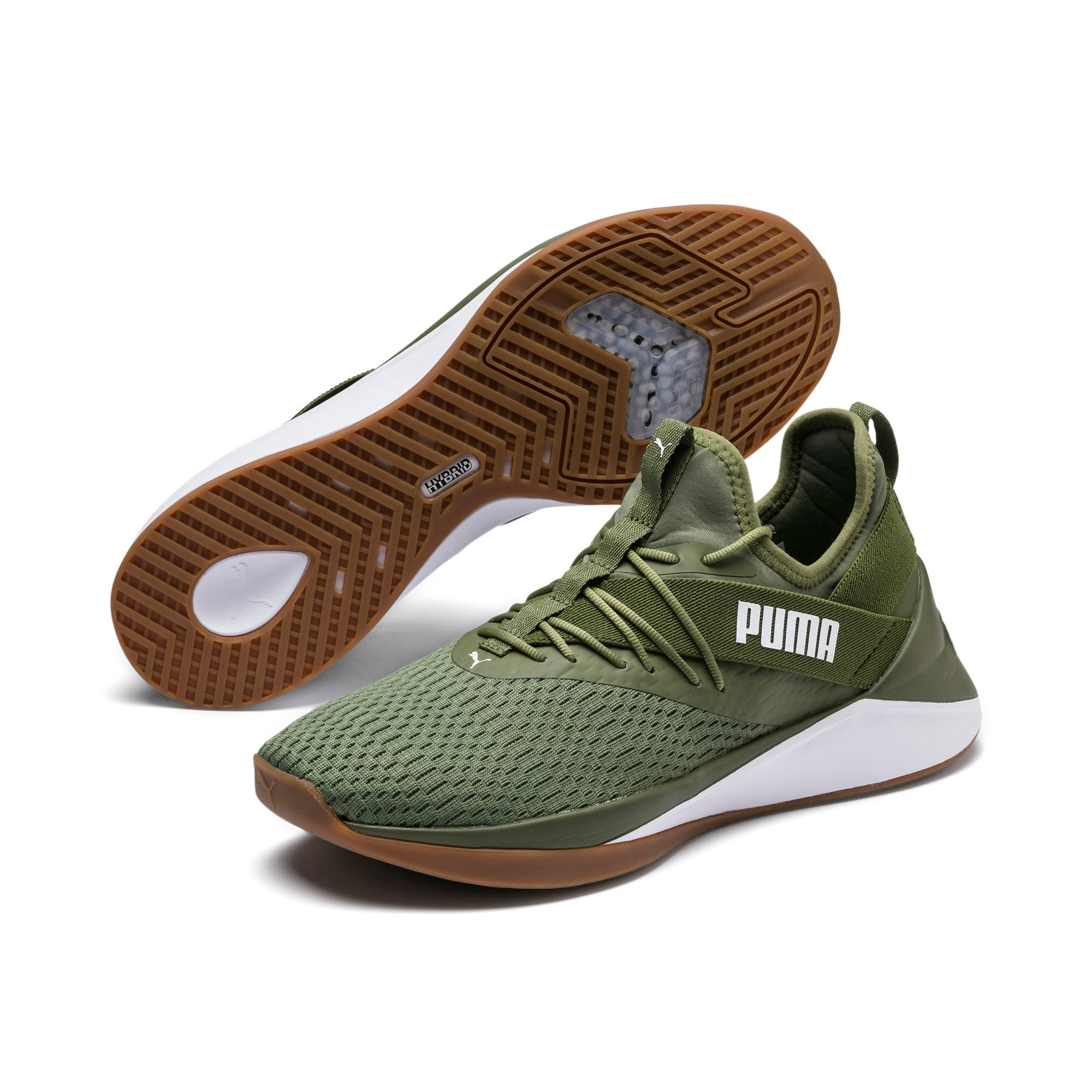 Thumbnail 2 of Jaab XT Summer Herren Sneaker, Olivine-Puma White, medium