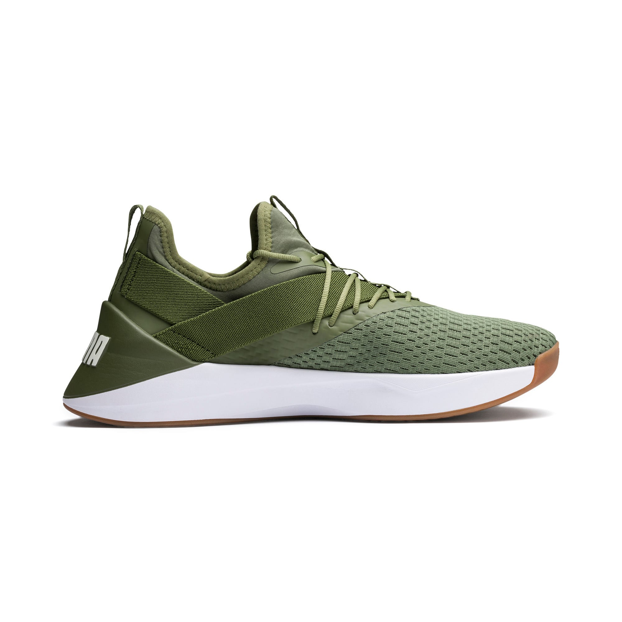 Thumbnail 5 of Jaab XT Summer Herren Sneaker, Olivine-Puma White, medium
