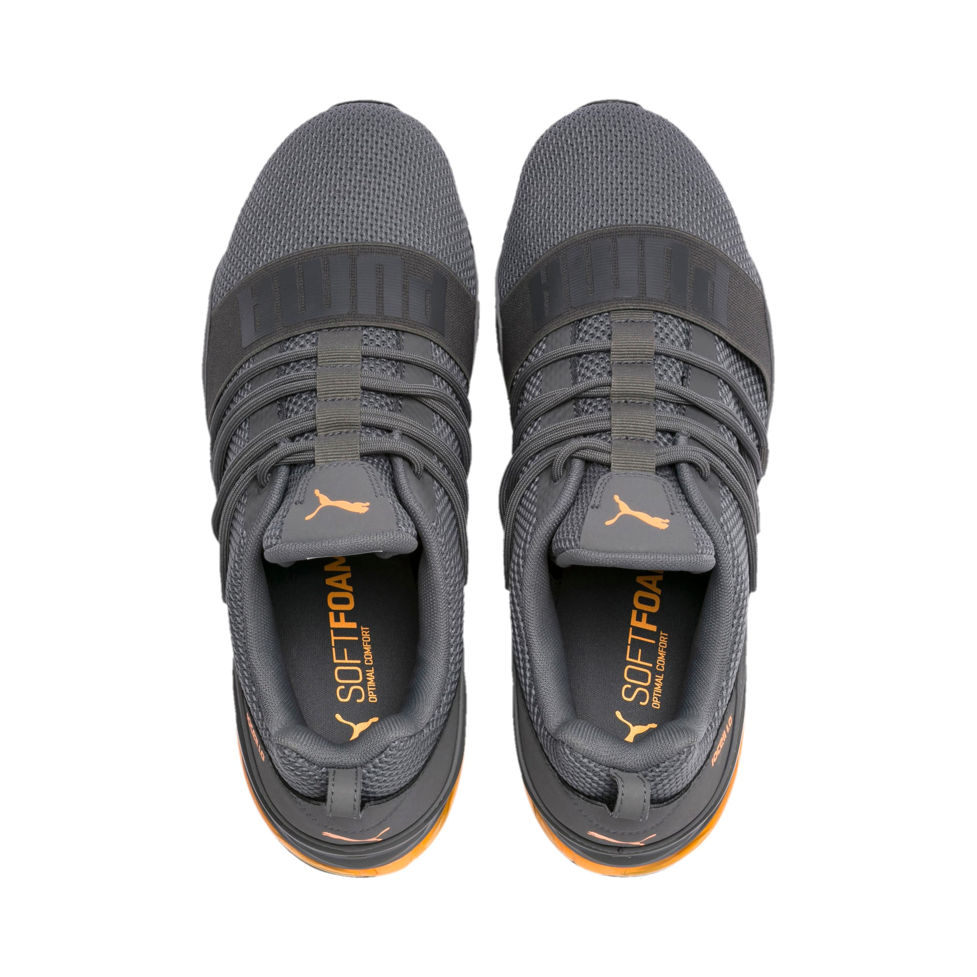 Thumbnail 6 of CELL Regulate Woven Men's Running Shoes, Charcoal Gray, medium