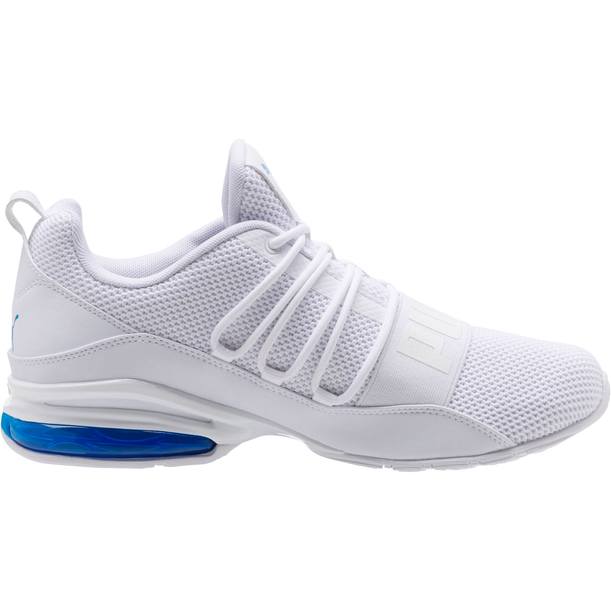 Thumbnail 3 of CELL Regulate Woven Men's Running Shoes, Puma White-Indigo Bunting, medium