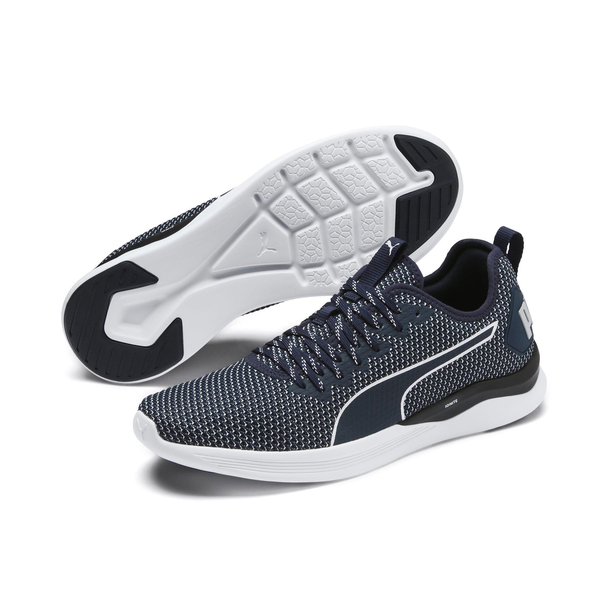 Thumbnail 2 of IGNITE Flash Men's Training Shoes, Peacoat-Glacier Gray-White, medium