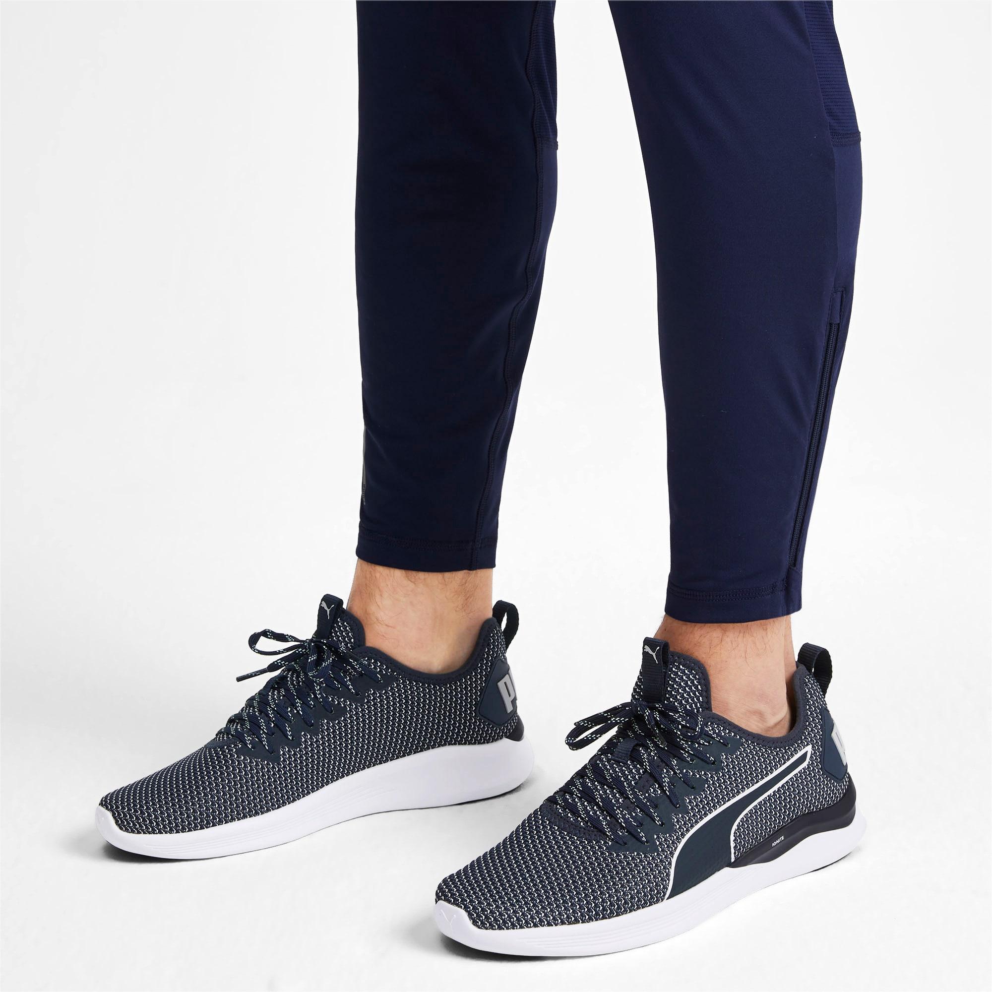 Thumbnail 3 of IGNITE Flash Men's Training Shoes, Peacoat-Glacier Gray-White, medium