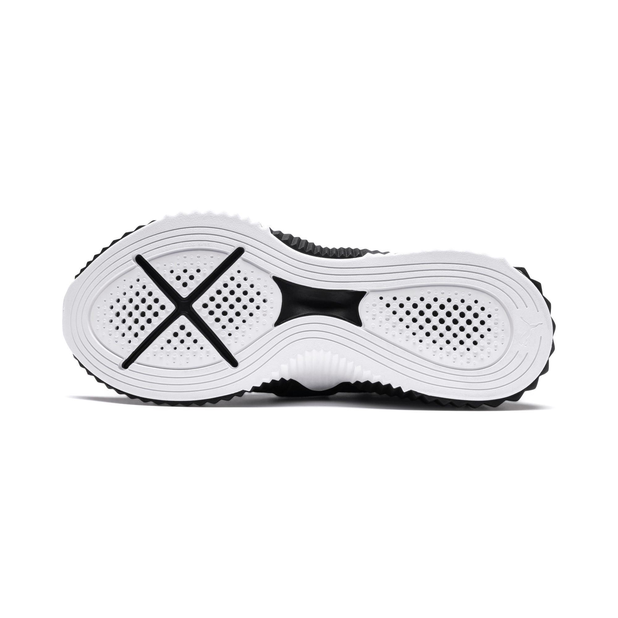 Thumbnail 5 of Defy Mid Core Women's Training Shoes, Puma Black-Puma White, medium