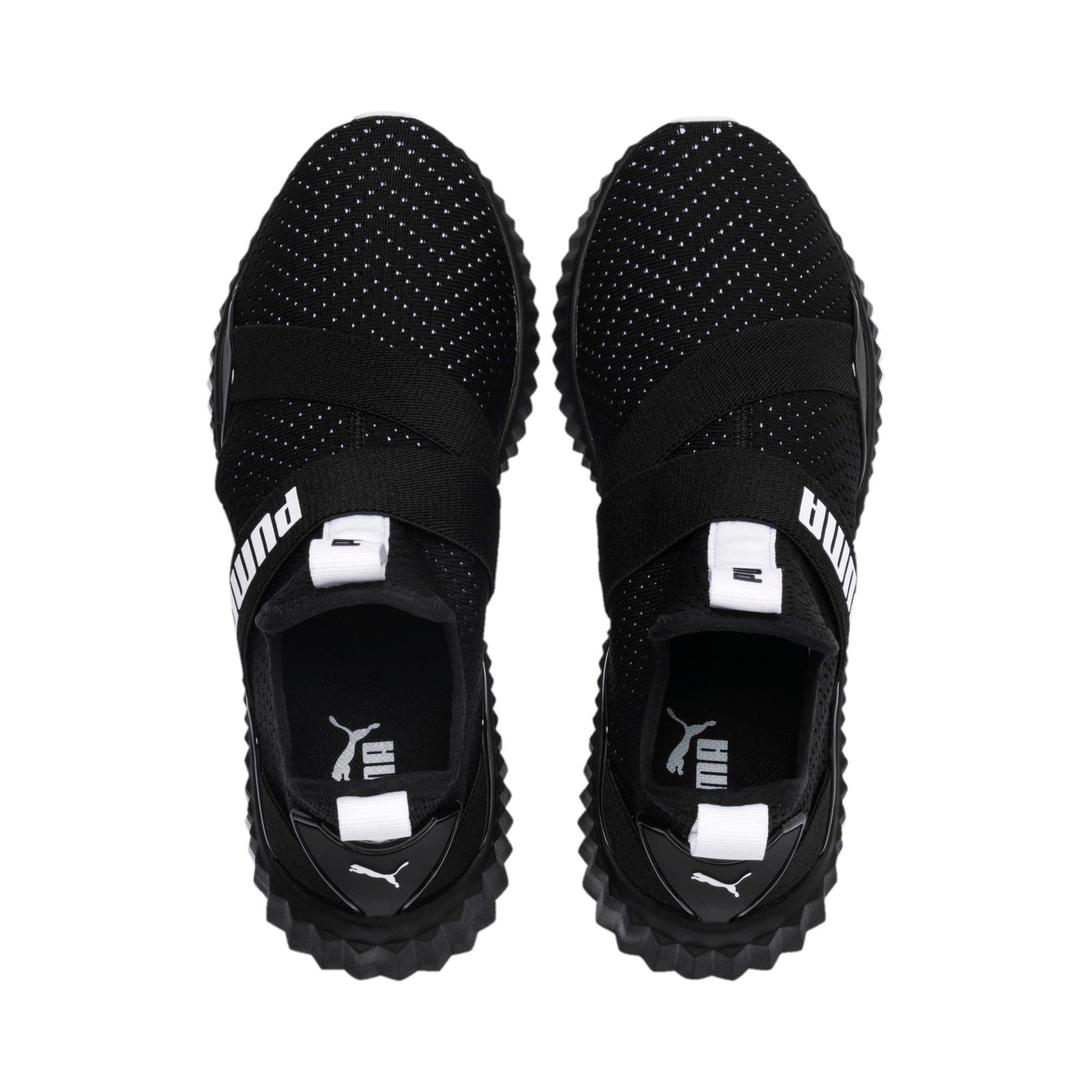 Thumbnail 7 of Defy Mid Core Women's Training Shoes, Puma Black-Puma White, medium