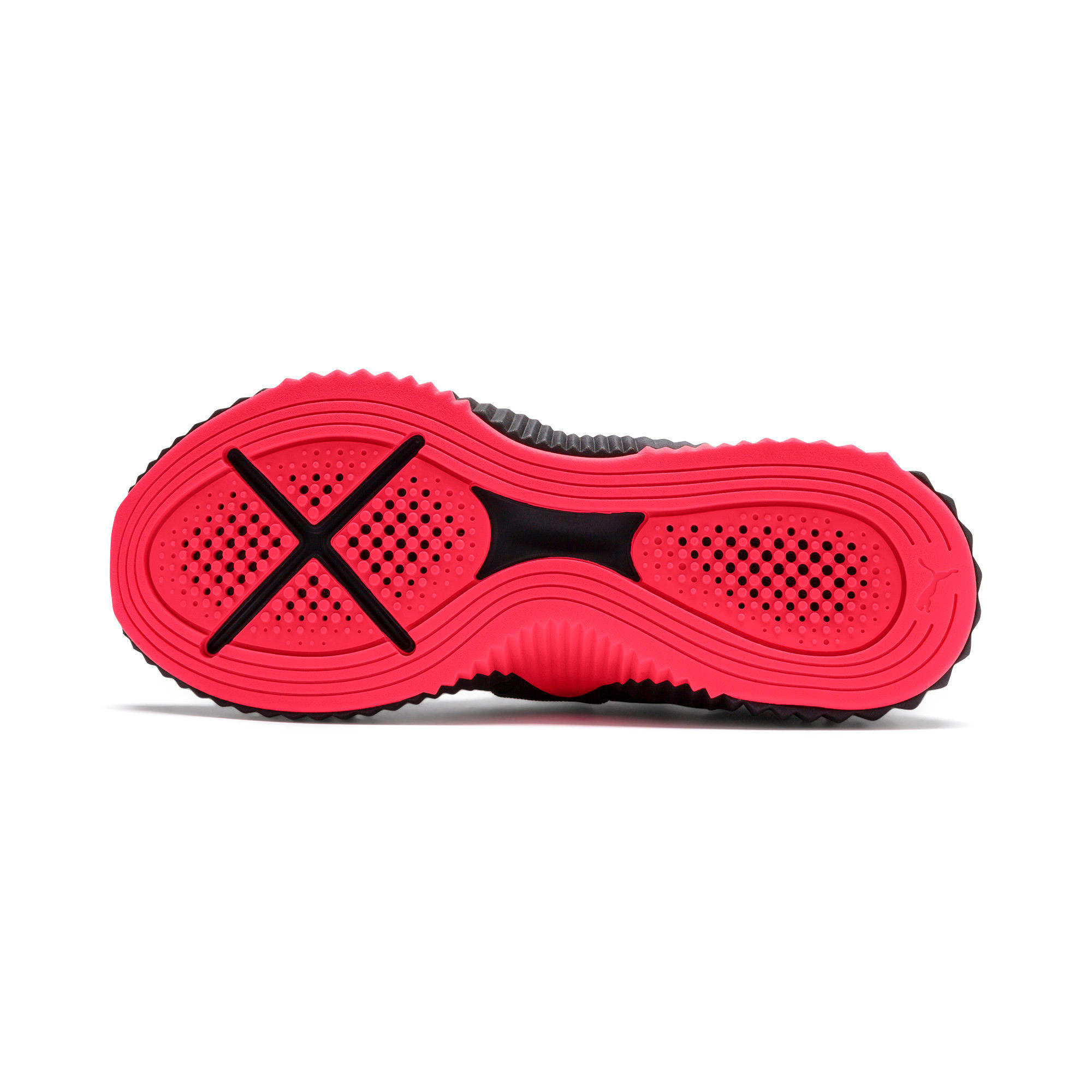 Thumbnail 5 of Defy Mid Core Women's Training Shoes, Puma Black-Pink Alert, medium
