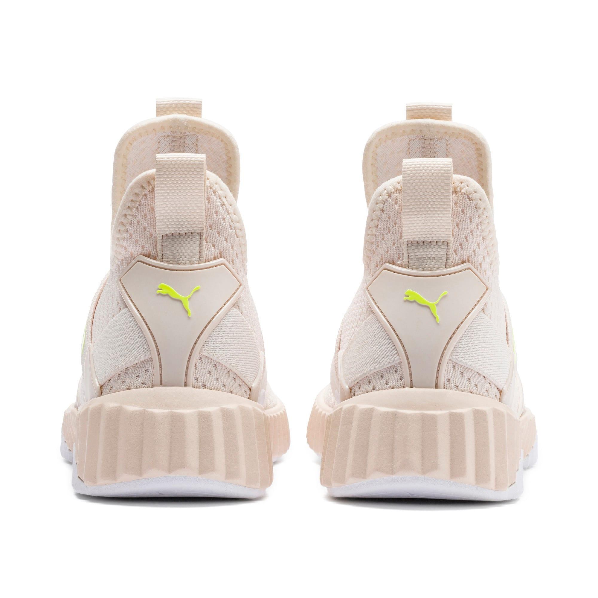 Thumbnail 4 of Defy Mid Core Women's Training Shoes, Pastel Parchment-Puma White, medium