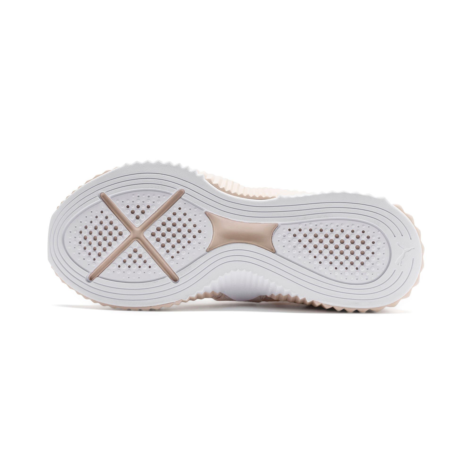 Thumbnail 5 of Defy Mid Core Women's Training Shoes, Pastel Parchment-Puma White, medium