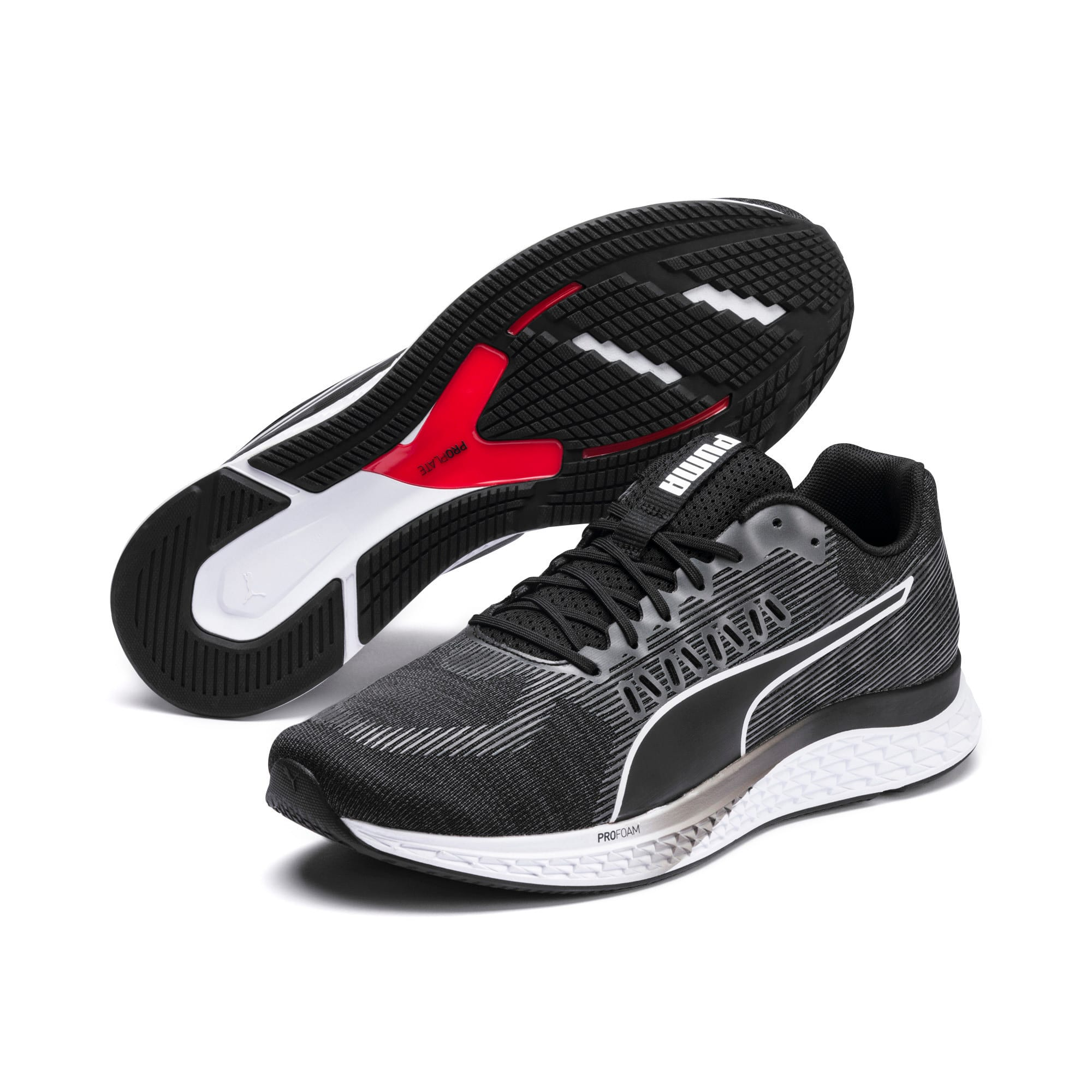 Imagen en miniatura 2 de Zapatillas de running SPEED SUTAMINA, Puma Black-Puma White, mediana