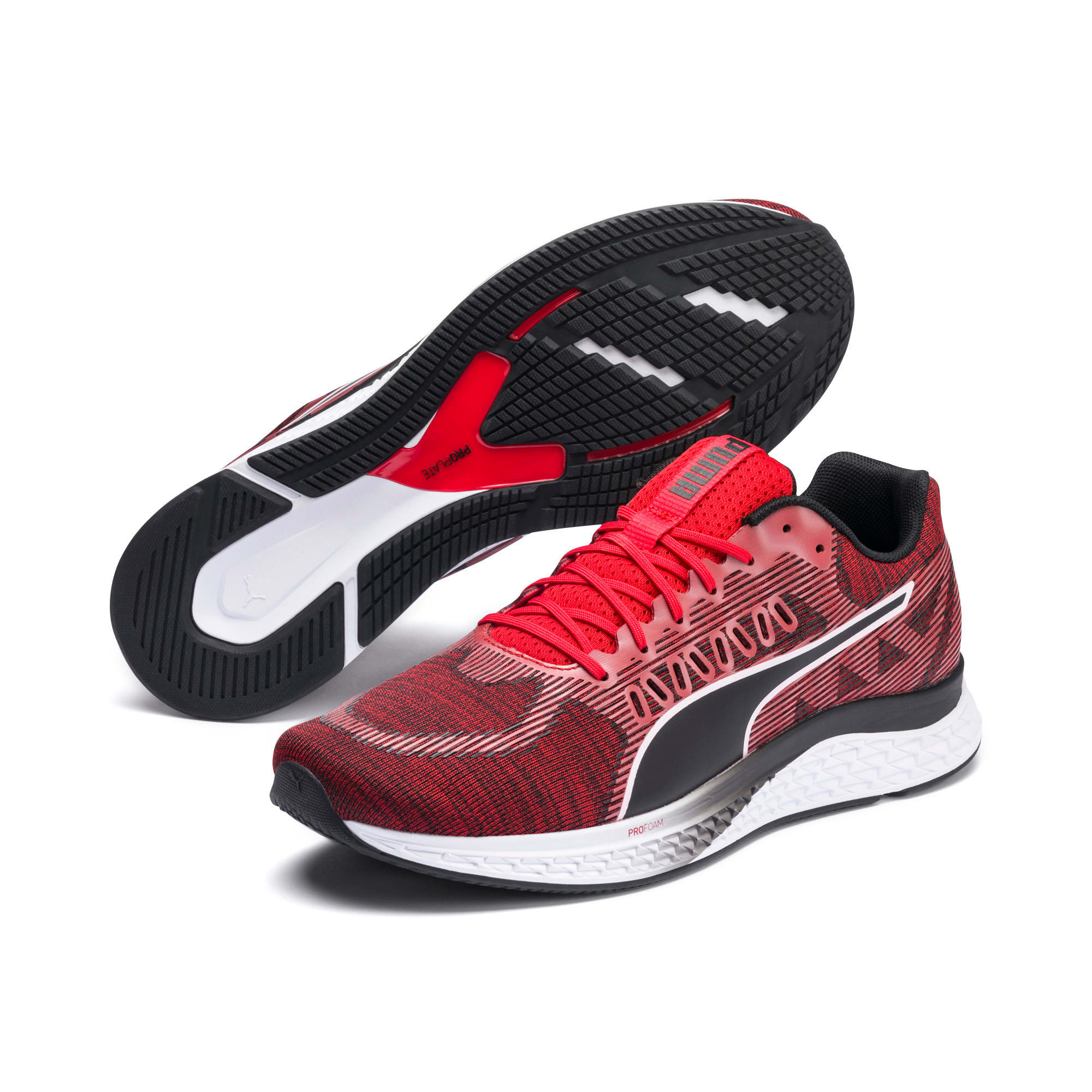 Thumbnail 2 van SPEED SUTAMINA hardloopschoenen, High Risk Red-Puma Black, medium