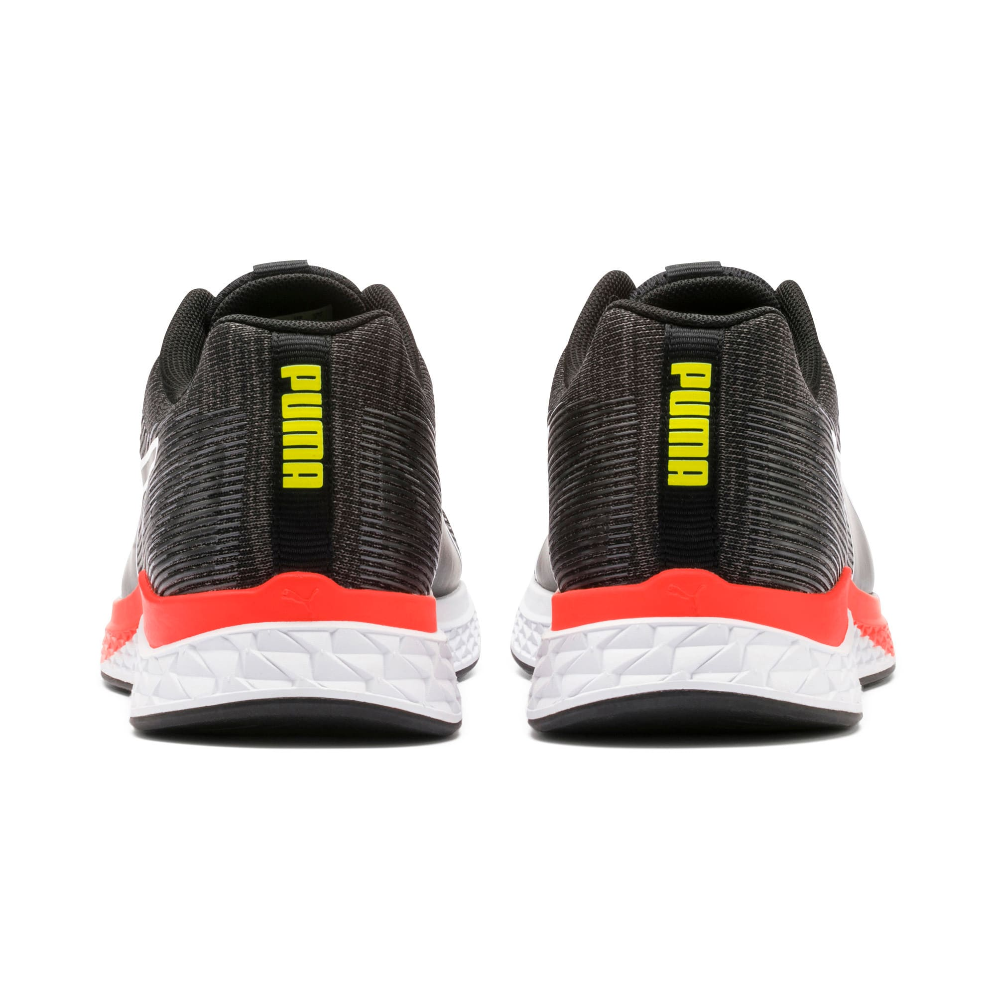 Thumbnail 4 of SPEED SUTAMINA Running Shoes, Black-CASTLEROCK-Yellow-Red, medium