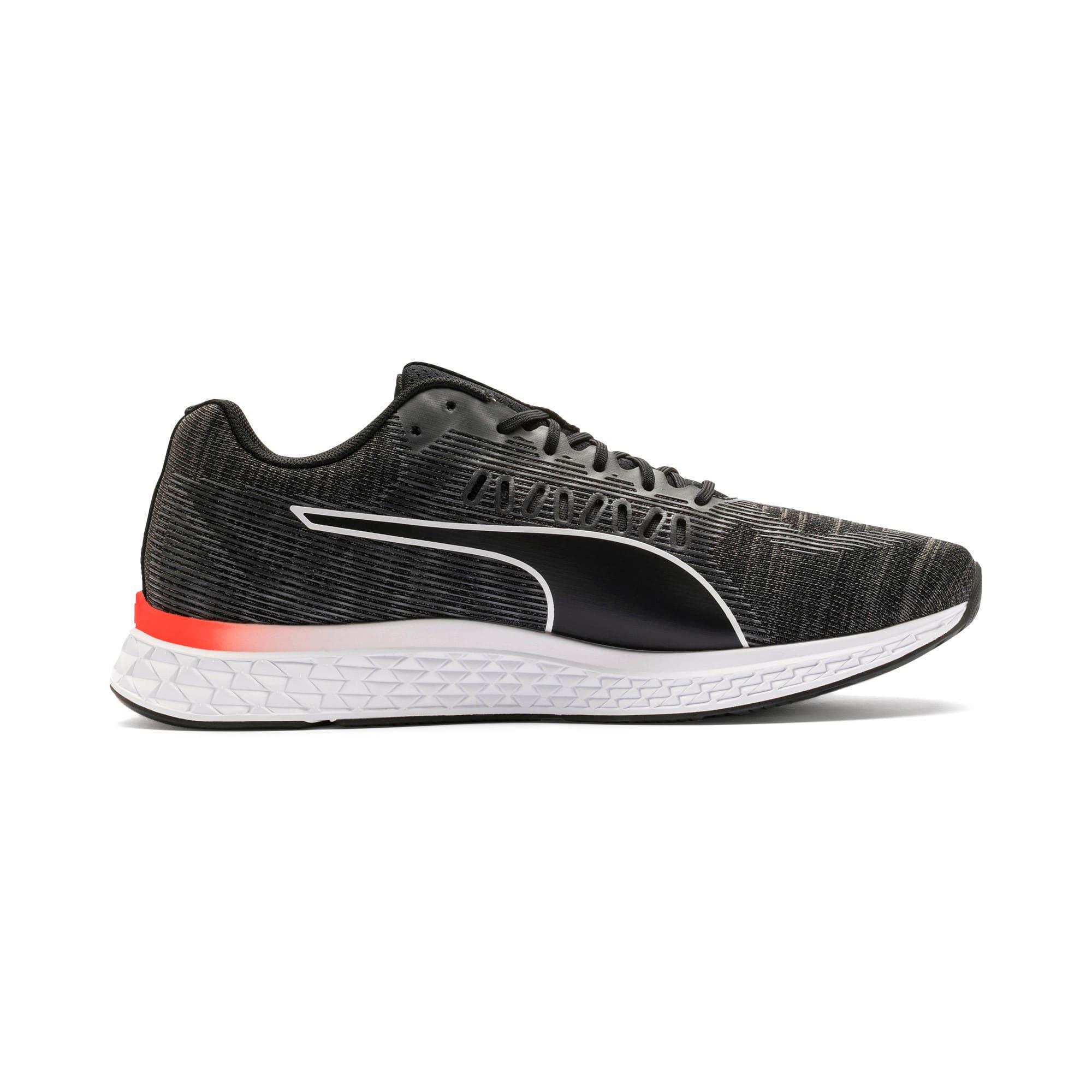 Thumbnail 6 of SPEED SUTAMINA Running Shoes, Black-CASTLEROCK-Yellow-Red, medium