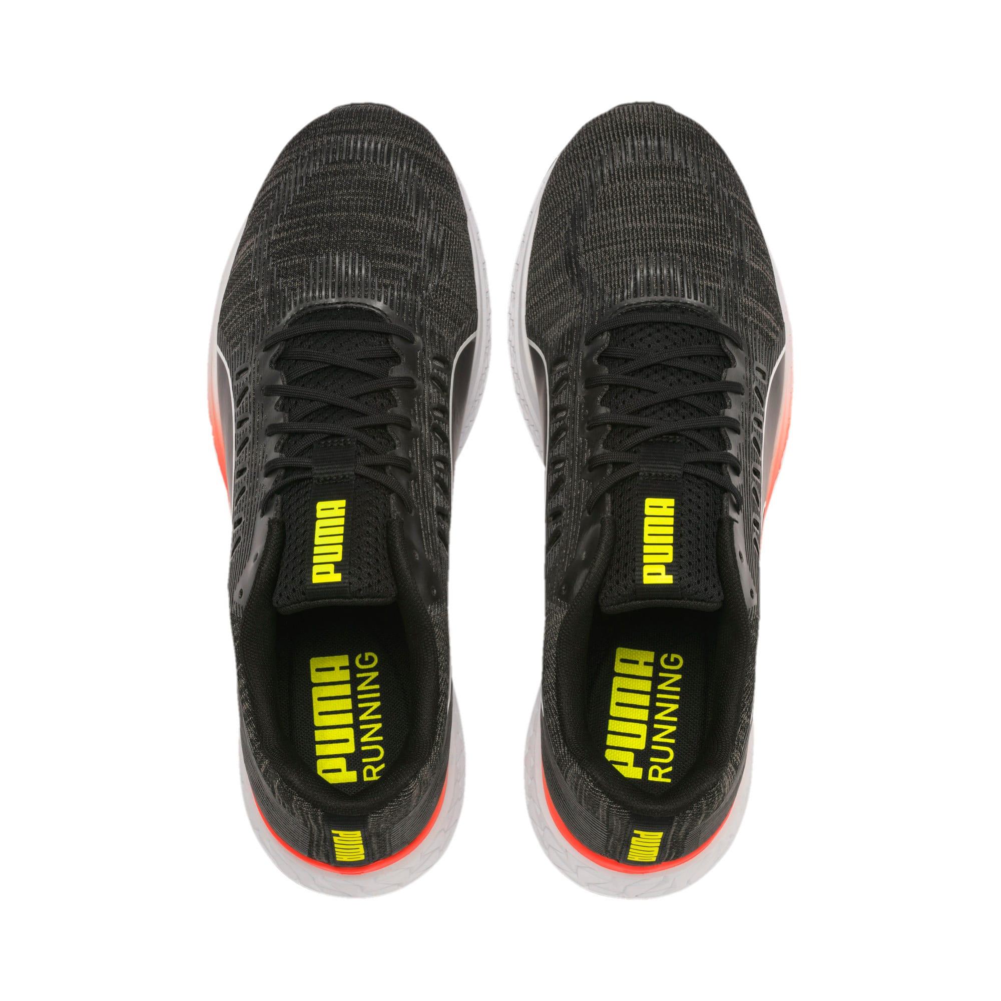 Thumbnail 7 of SPEED Sutamina Running Shoes, Black-CASTLEROCK-Yellow-Red, medium