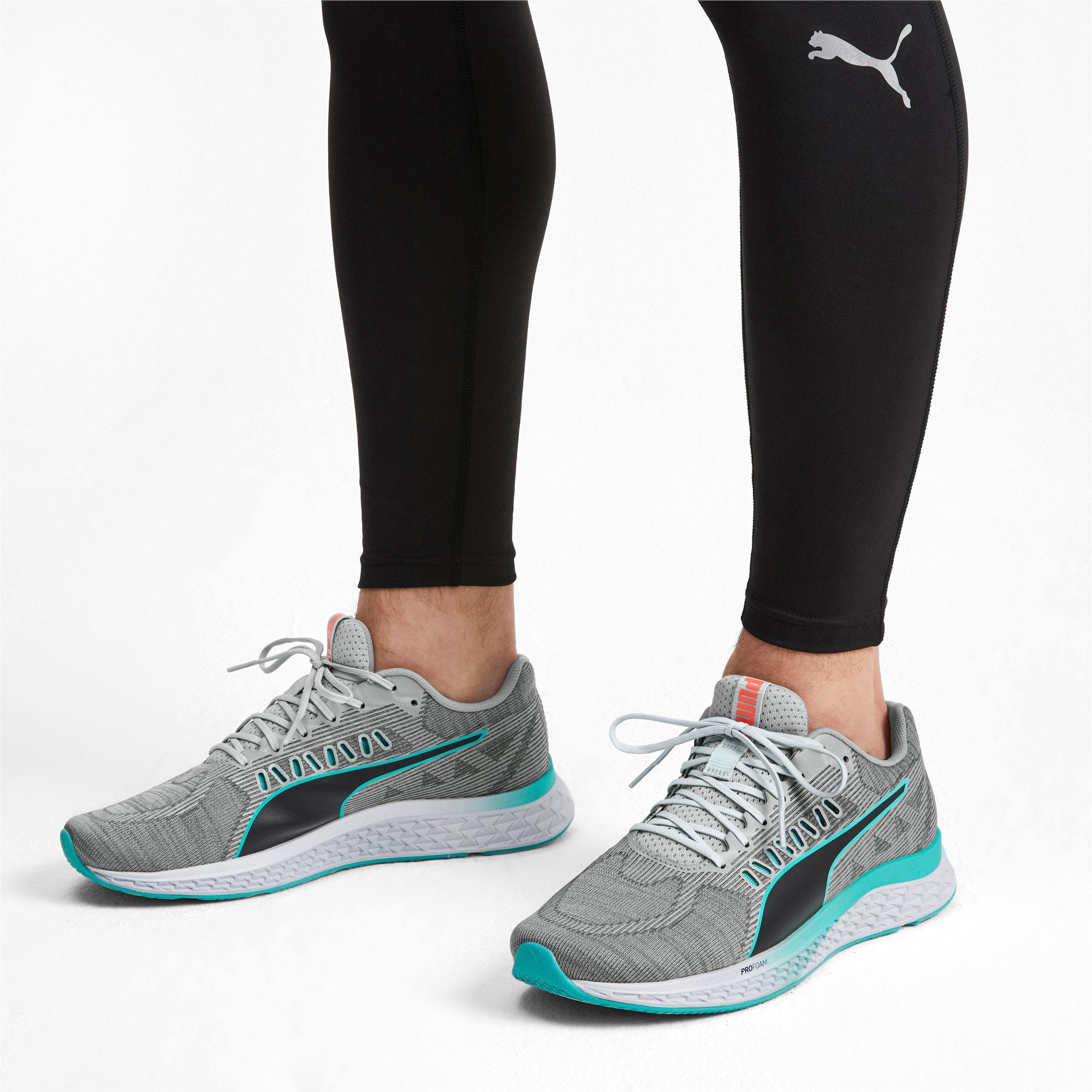 Thumbnail 2 of SPEED Sutamina Running Shoes, High Rise-Nrgy Red-Blue Turq, medium
