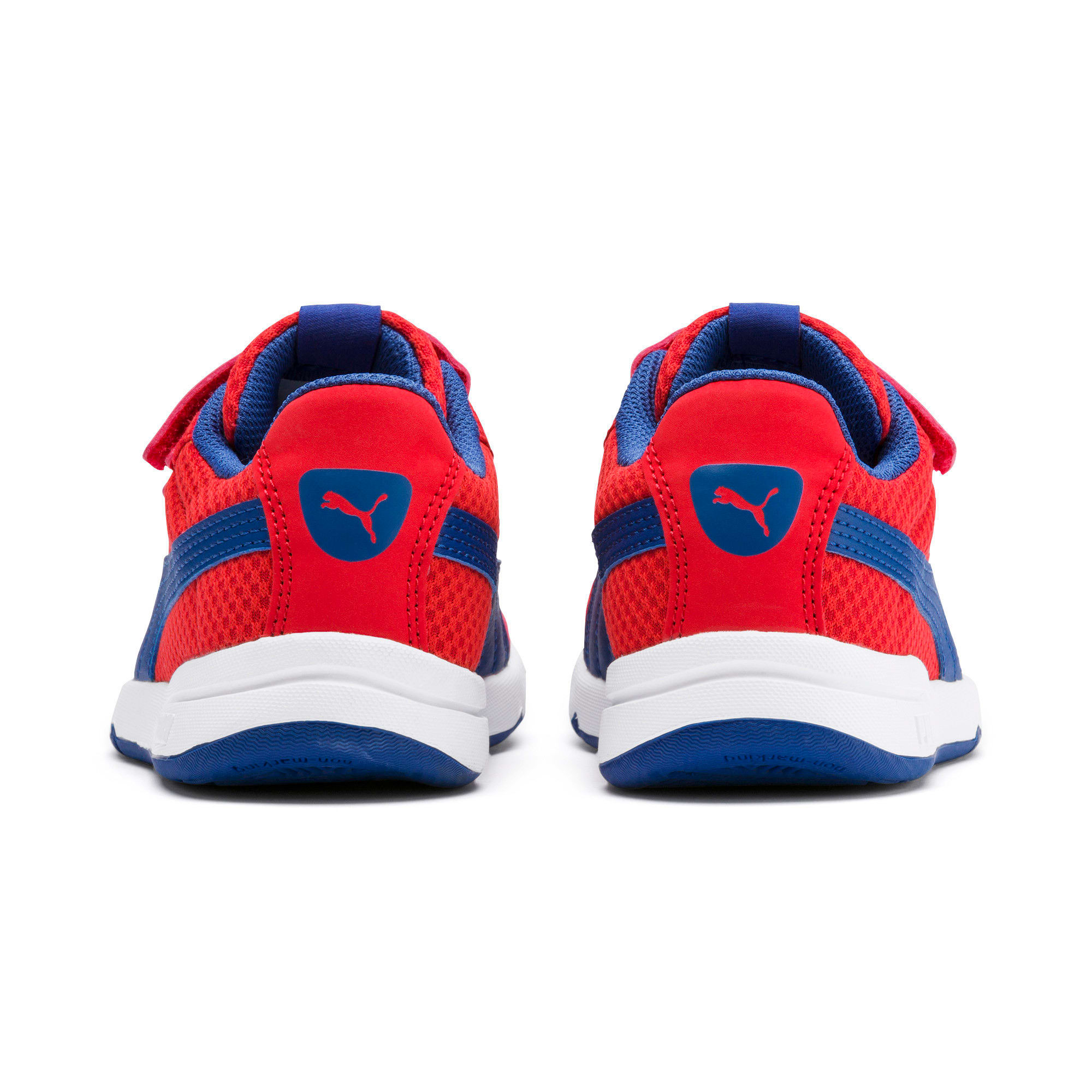 Thumbnail 3 of Stepfleex 2 Mesh VE V Kids' Trainers, Red-Galaxy Blue-White, medium-IND