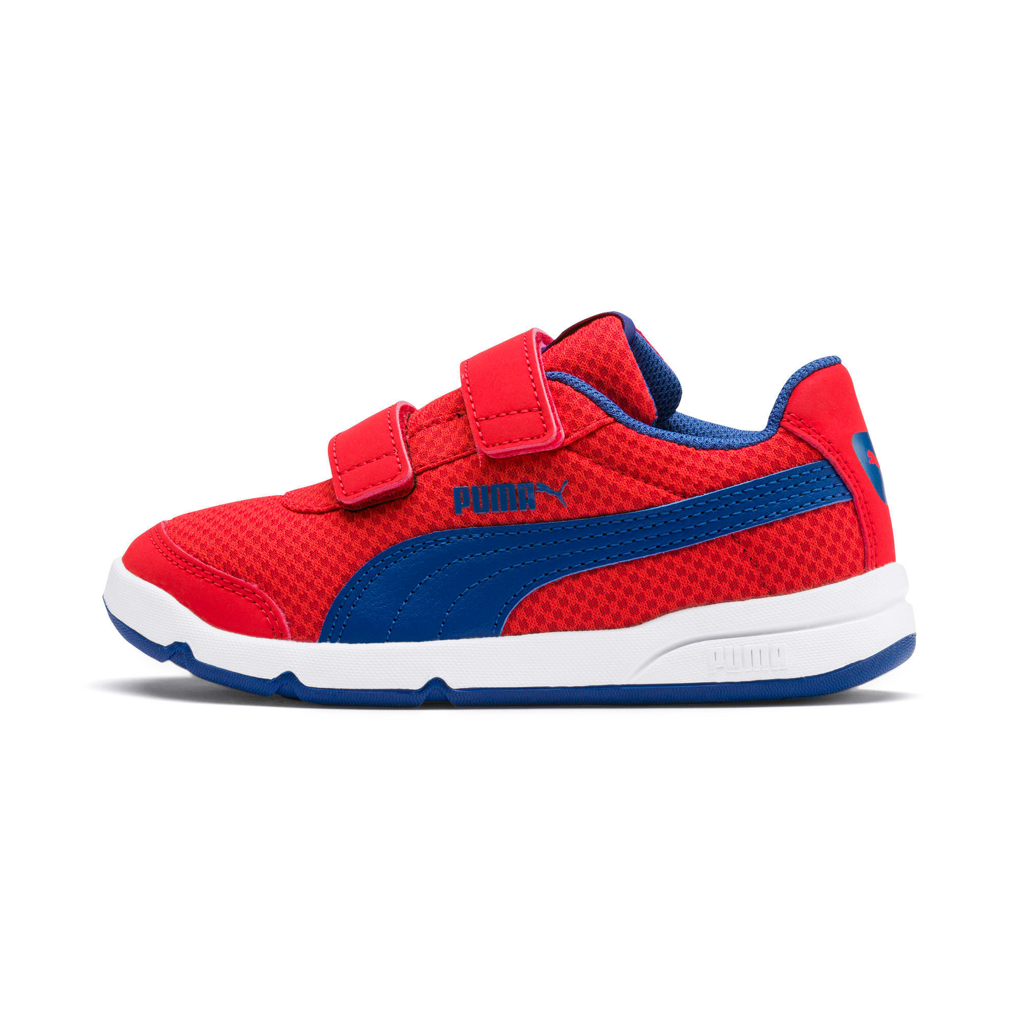 Thumbnail 1 of Stepfleex 2 Mesh VE V Kids' Trainers, Red-Galaxy Blue-White, medium-IND