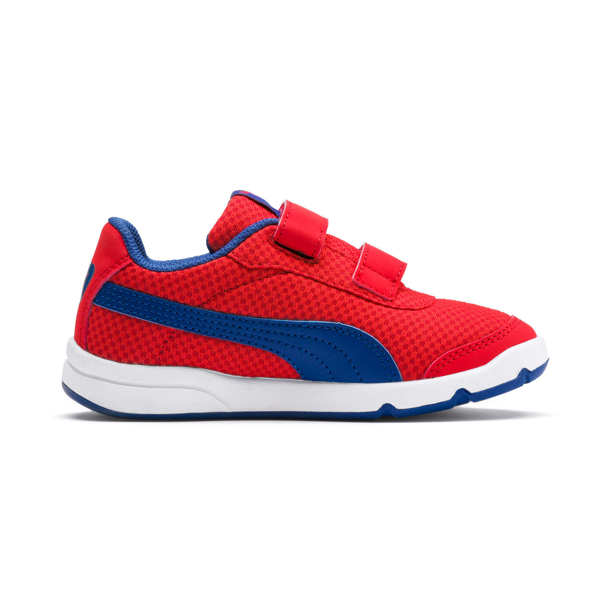 Thumbnail 5 of Stepfleex 2 Mesh VE V Kids' Trainers, Red-Galaxy Blue-White, medium-IND