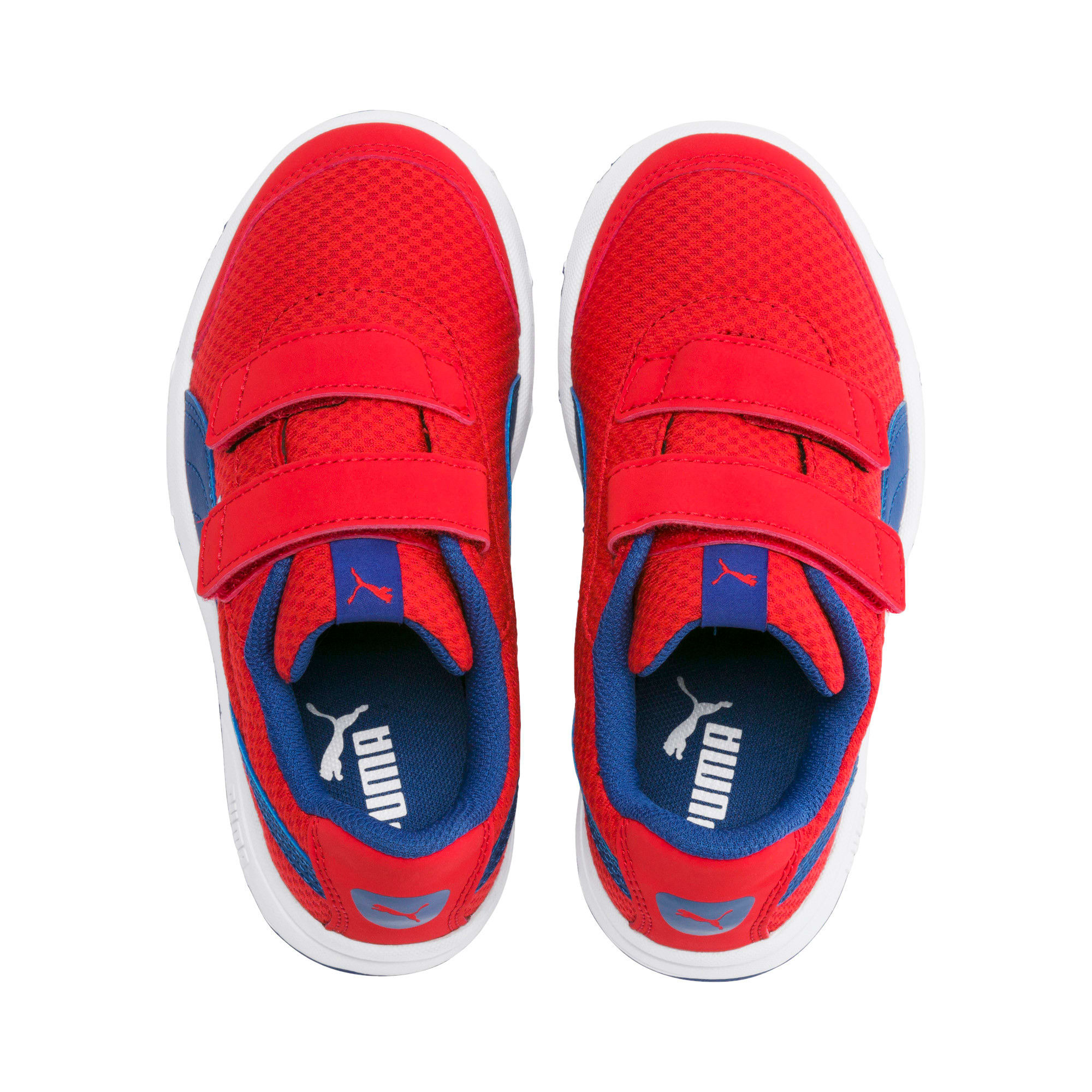 Thumbnail 6 of Stepfleex 2 Mesh VE V Kids' Trainers, Red-Galaxy Blue-White, medium-IND