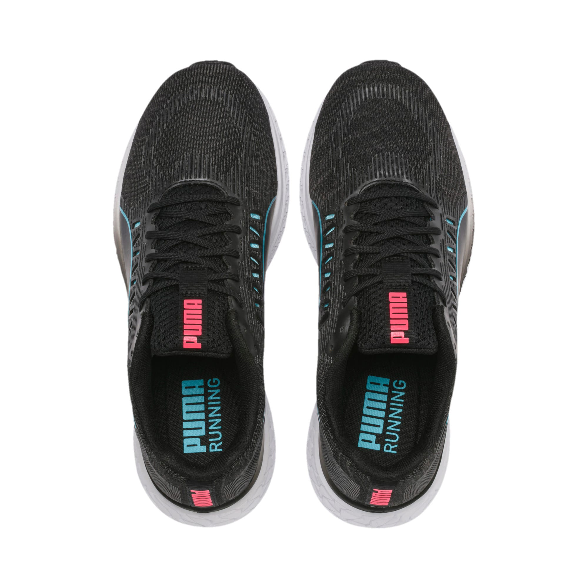 Thumbnail 8 of SPEED Sutamina Women's Running Shoes, Black-Milky Blue-Pink Alert, medium
